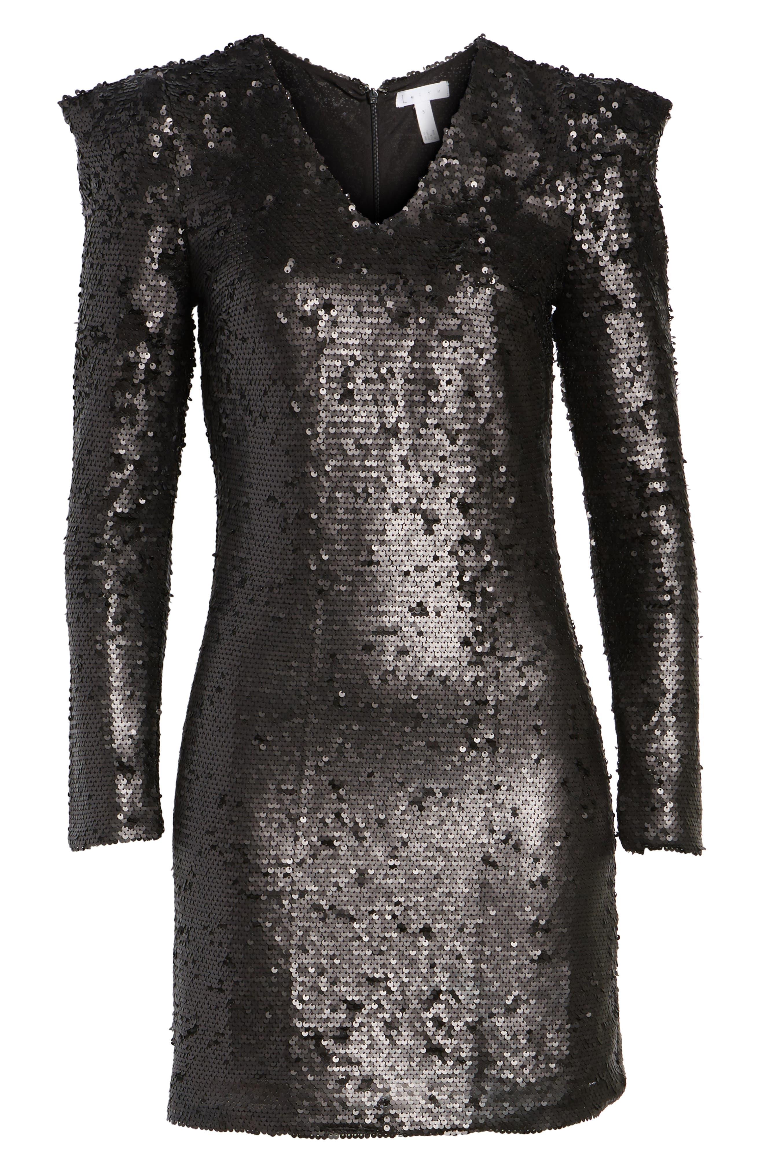 Alternate Image 6  - Leith Sequin Dress