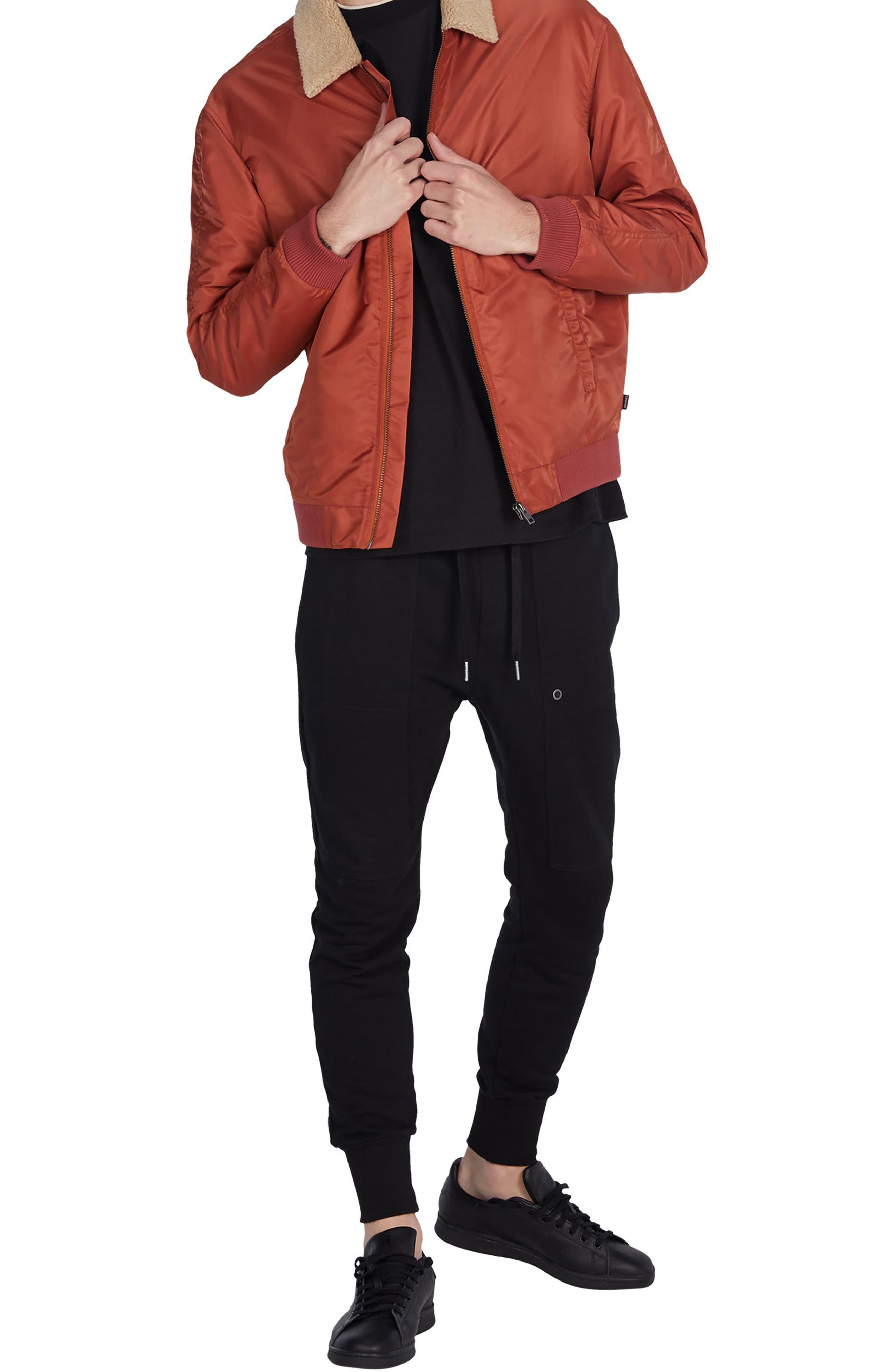 Alternate Image 5  - ZANEROBE Yeti Nylon Jacket with Faux Shearling Trim