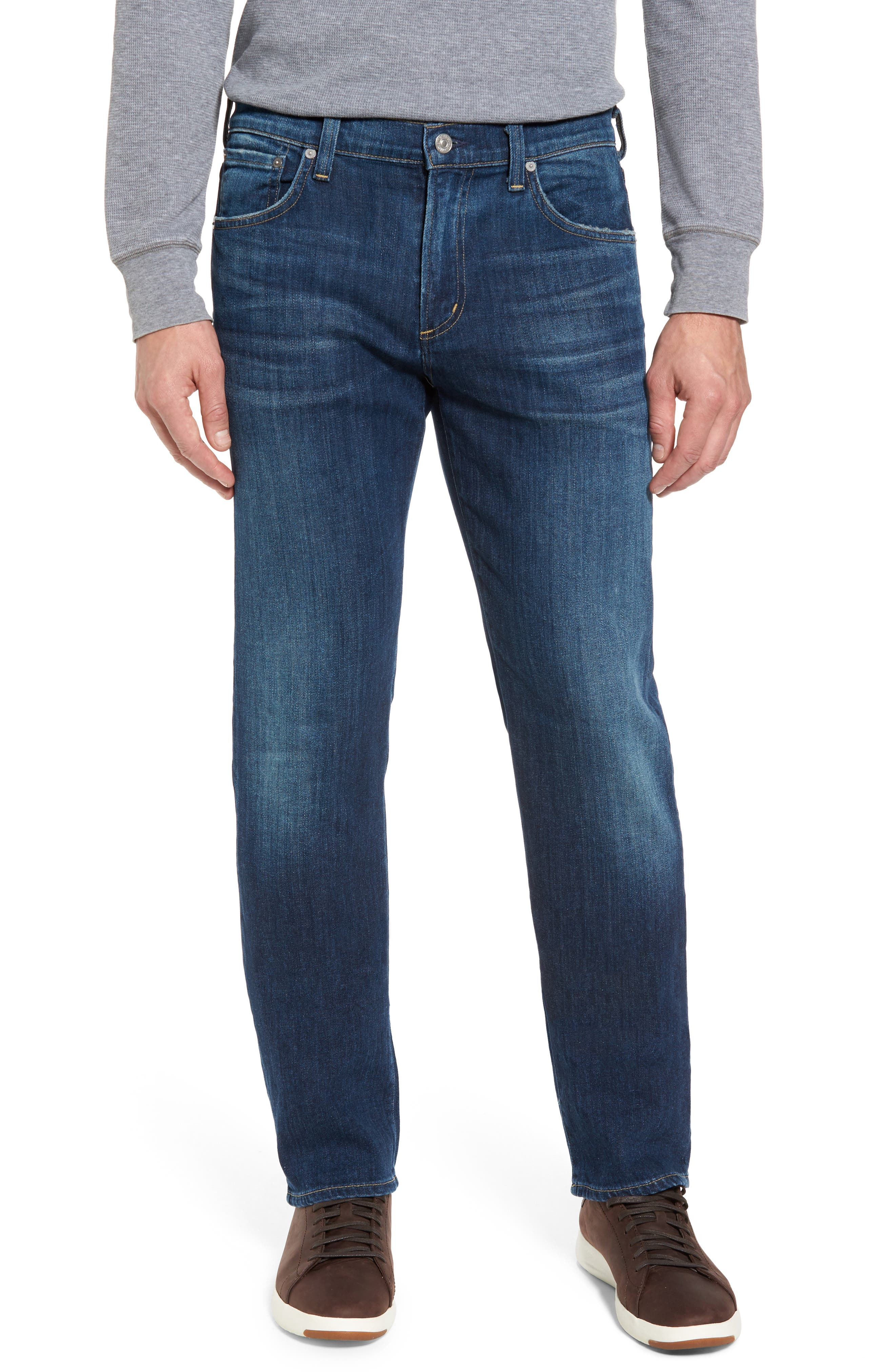 Sid Straight Fit Jeans,                         Main,                         color, Atticus