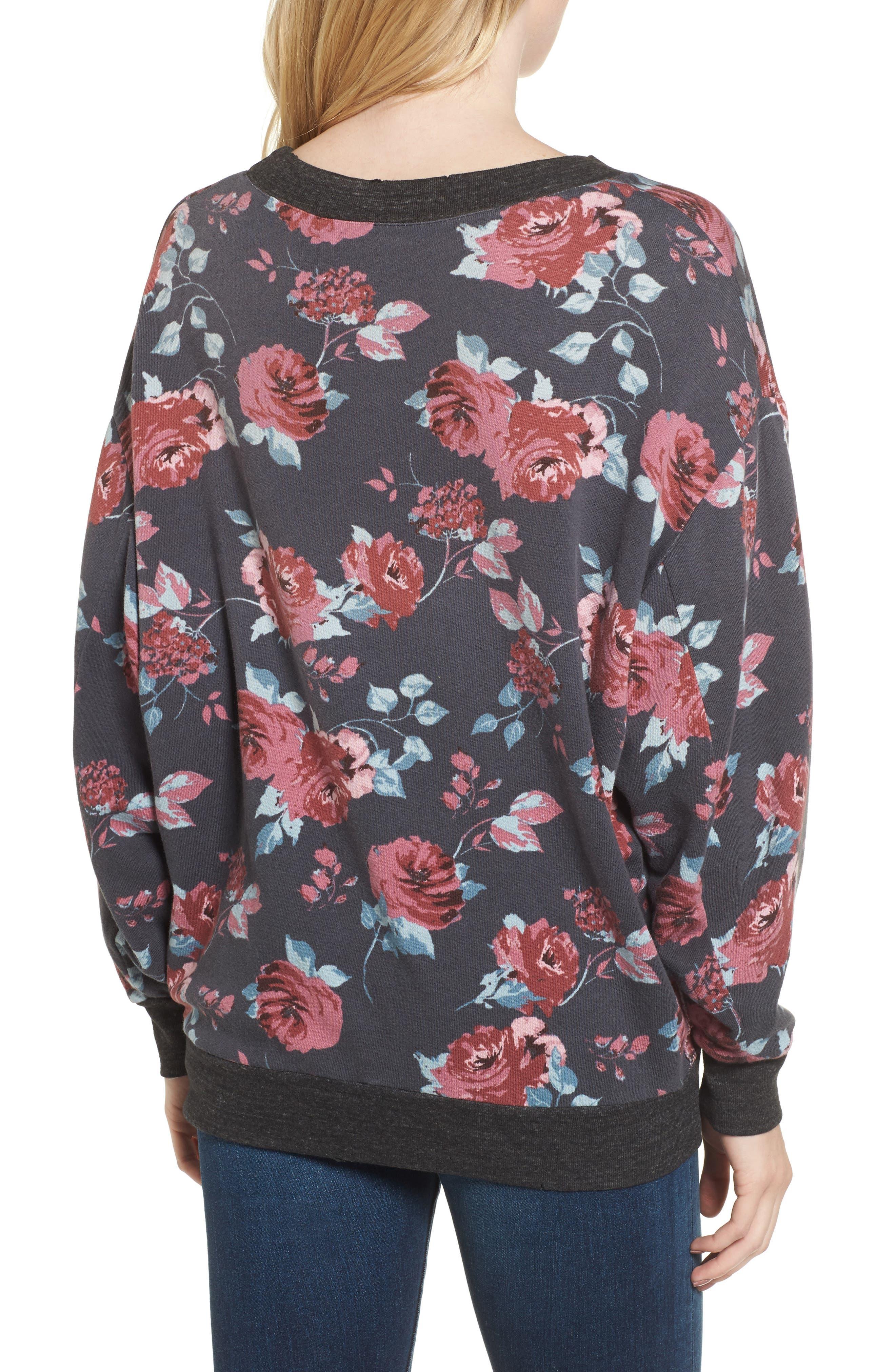 Chelsea Sweatshirt,                             Alternate thumbnail 2, color,                             Pitch Black