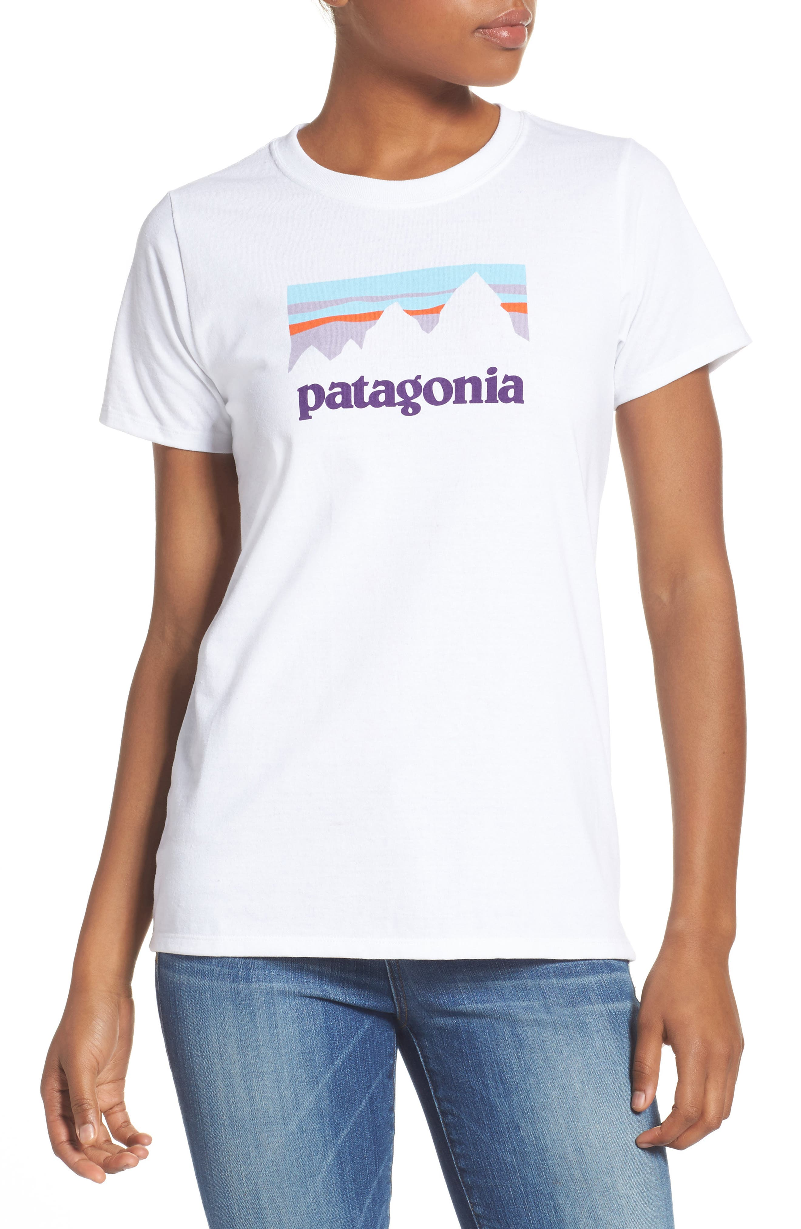 Alternate Image 1 Selected - Patagonia Shop Sticker Tee
