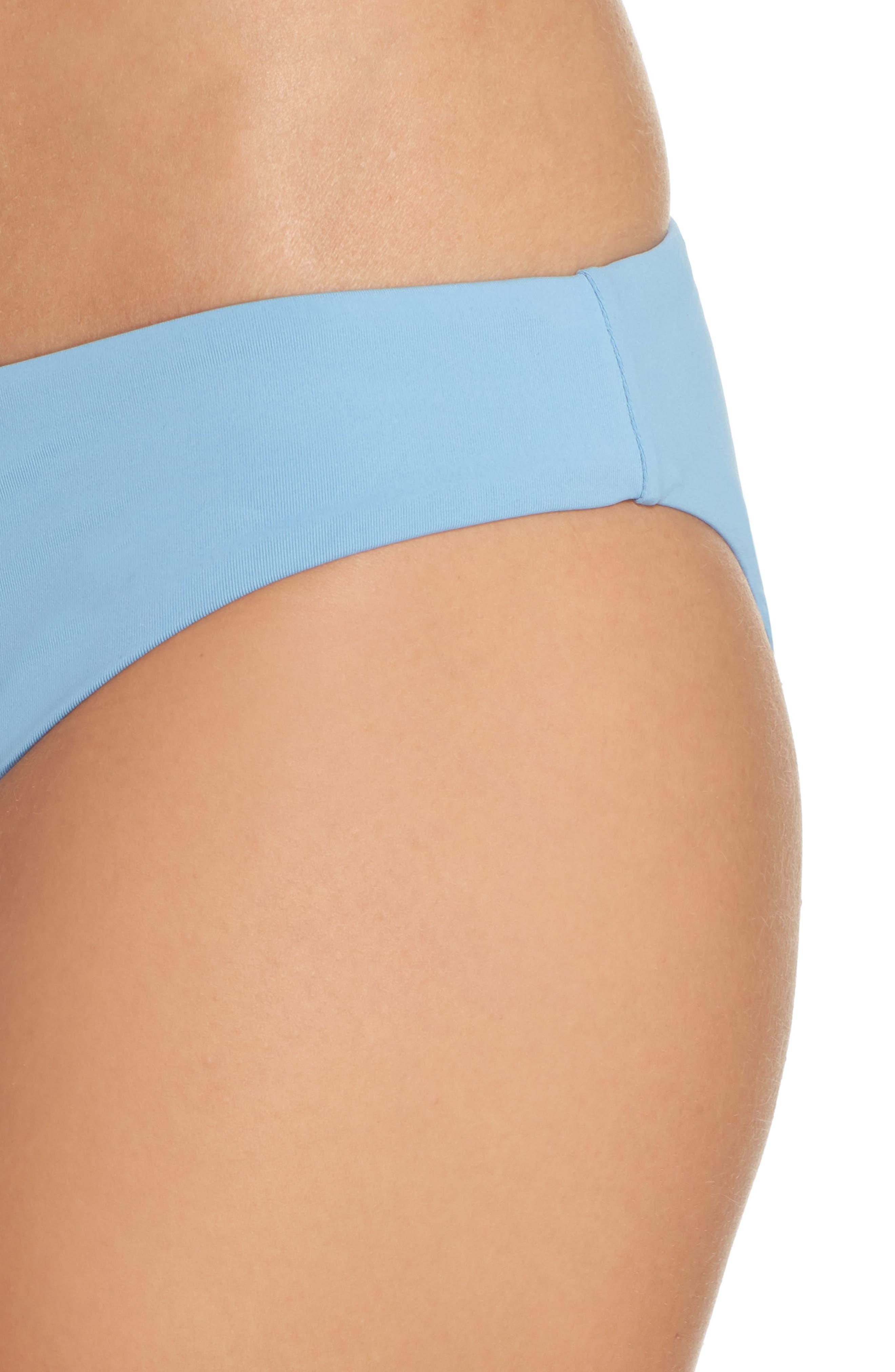 Active Bikini Bottoms,                             Alternate thumbnail 4, color,                             Blue Mist
