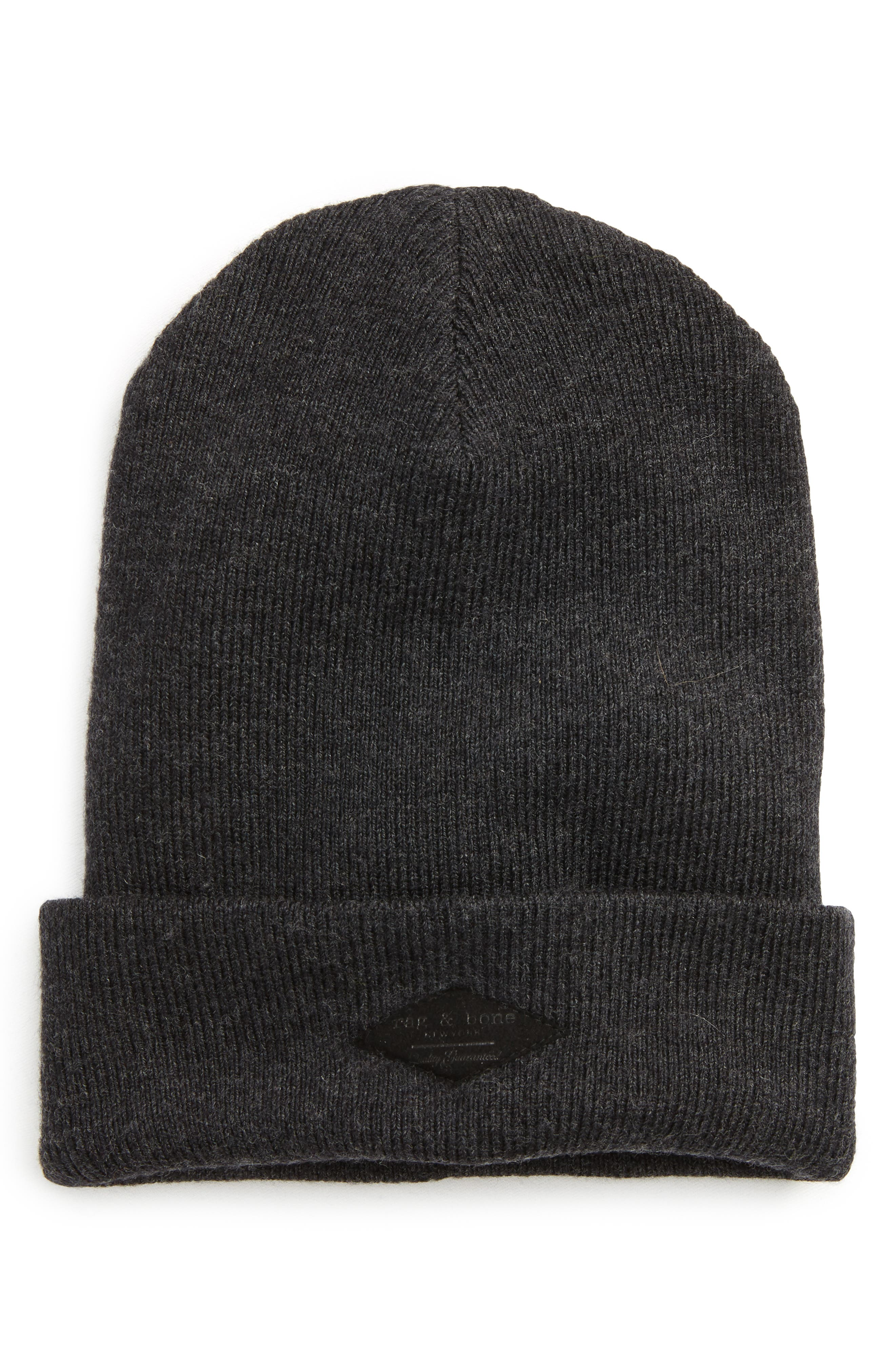 rag & bone Addison Stretch Merino Wool Knit Cap