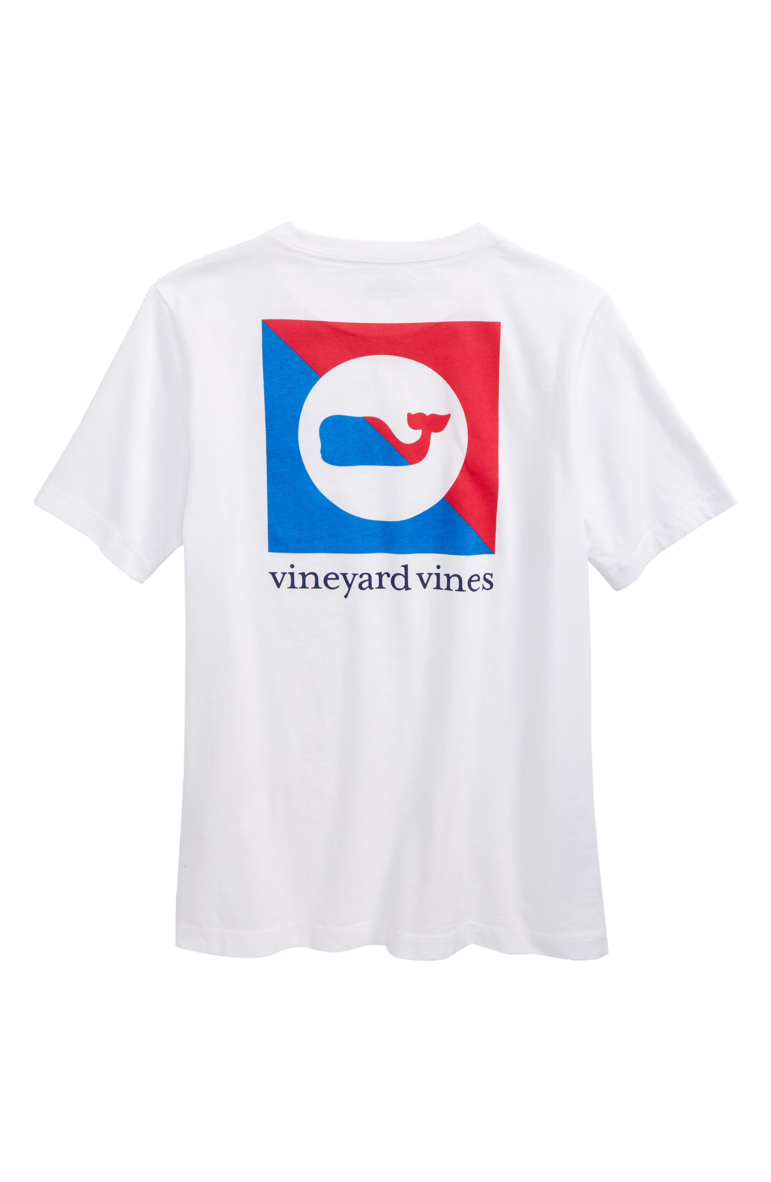 Alternate Image 2  - vineyard vines Burgee Logo Graphic T-Shirt (Big Boys)