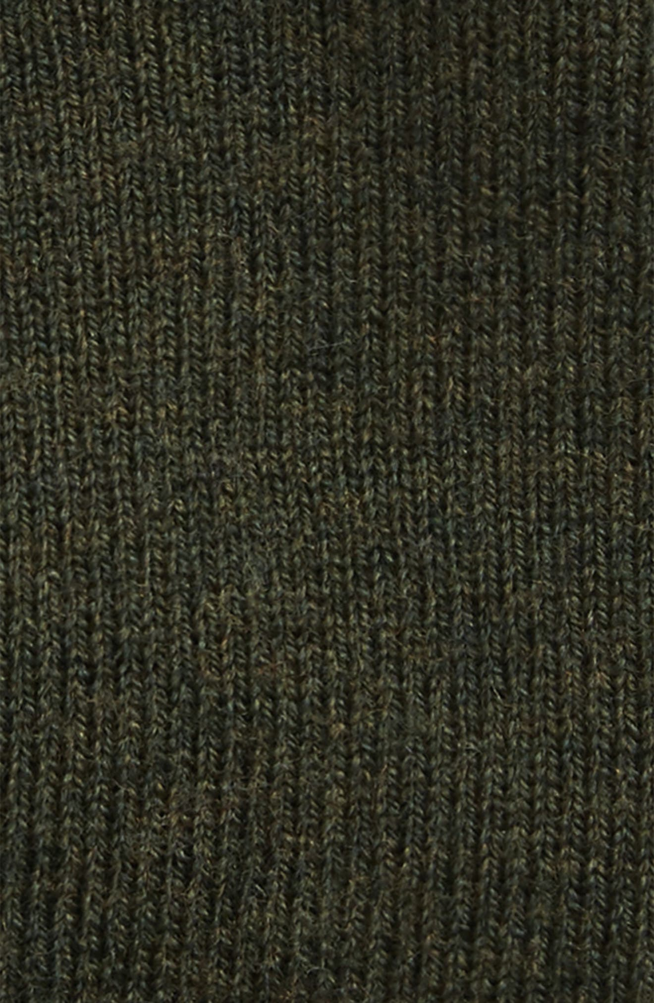 Addison Stretch Merino Wool Knit Cap,                             Alternate thumbnail 2, color,                             Army Green