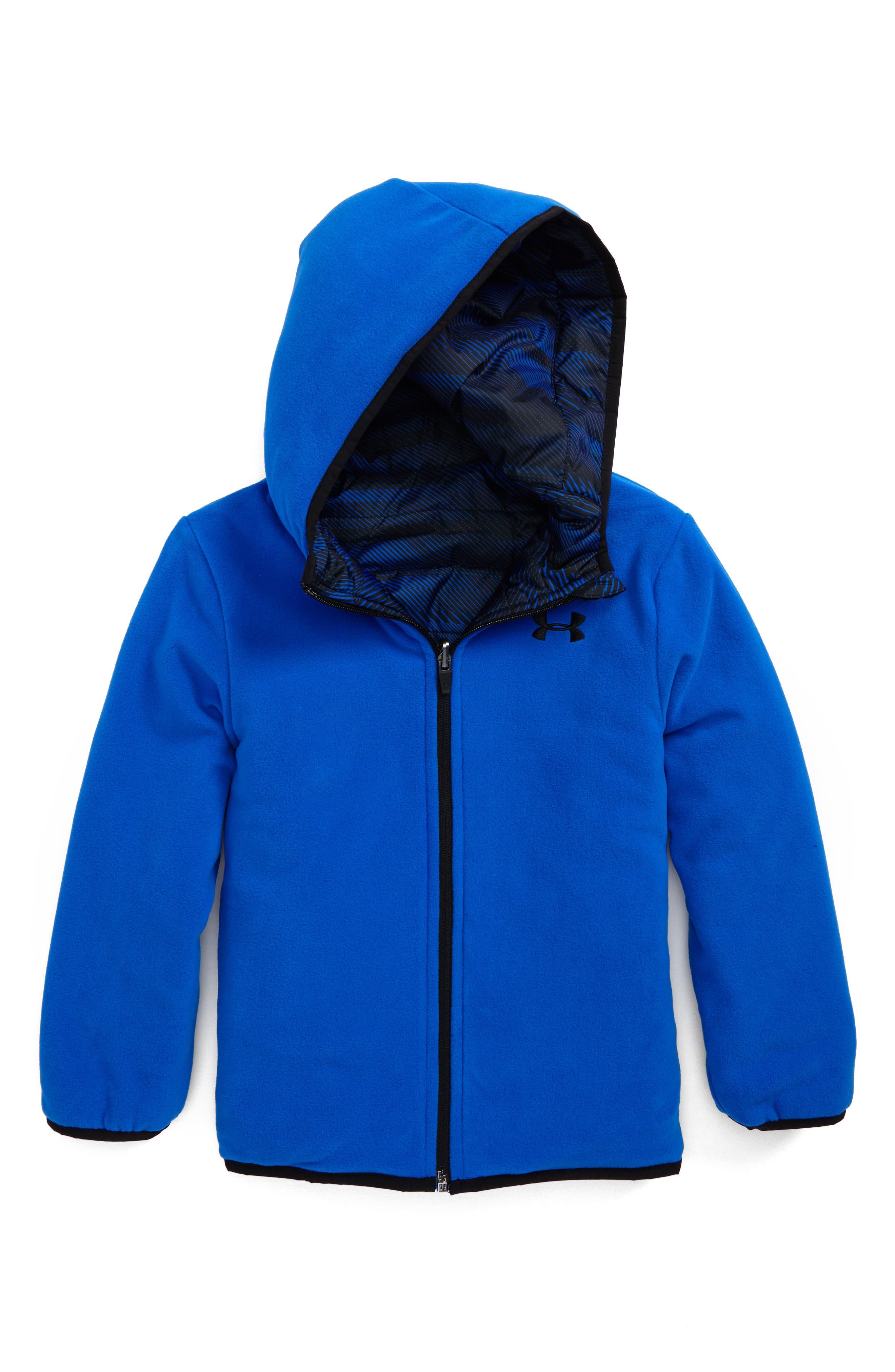 Alternate Image 2  - Under Armour Speedlines ColdGear® Reversible Puffer Jacket (Toddler Boys & Little Boys)