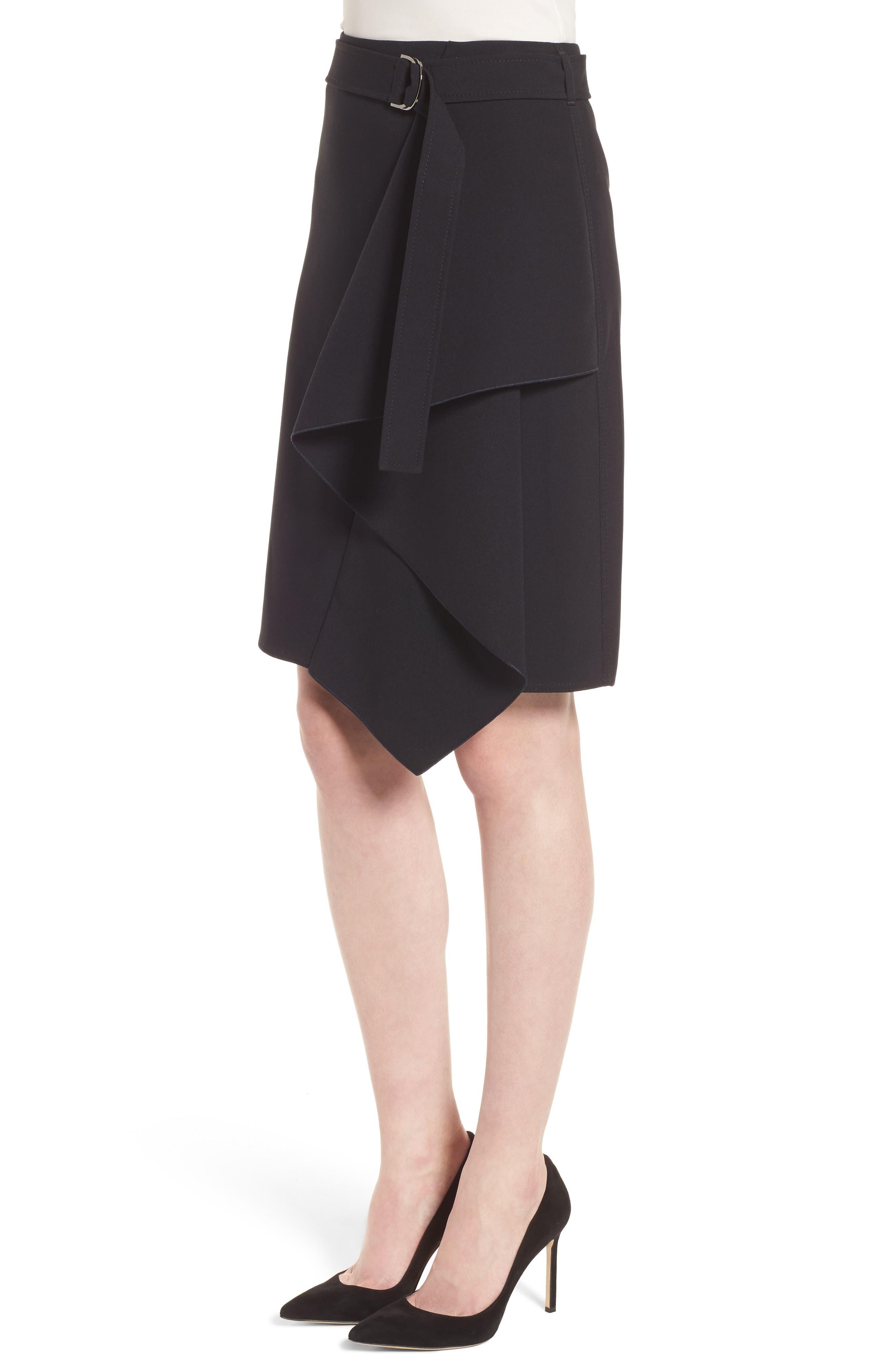 Mavea Skirt,                             Alternate thumbnail 3, color,                             Navy