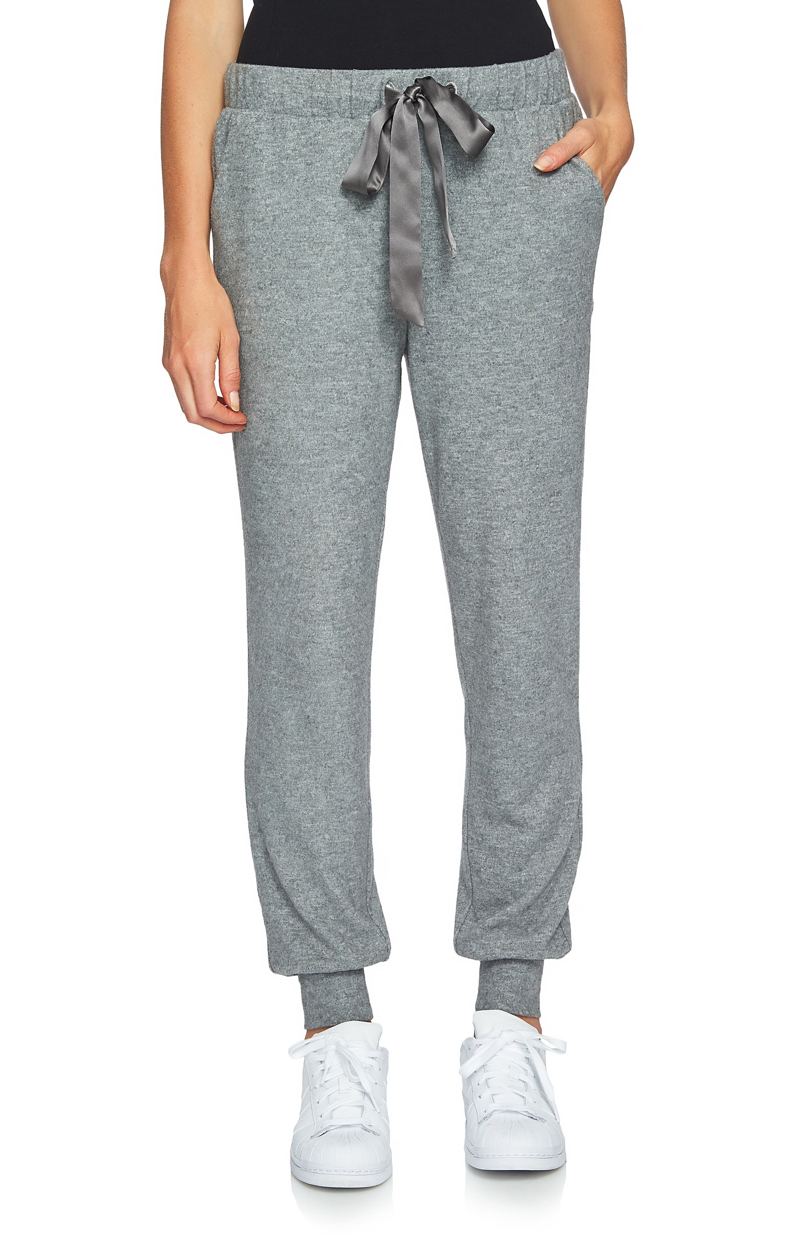 The Cozy Jogger Pants,                         Main,                         color, Pewter Heather