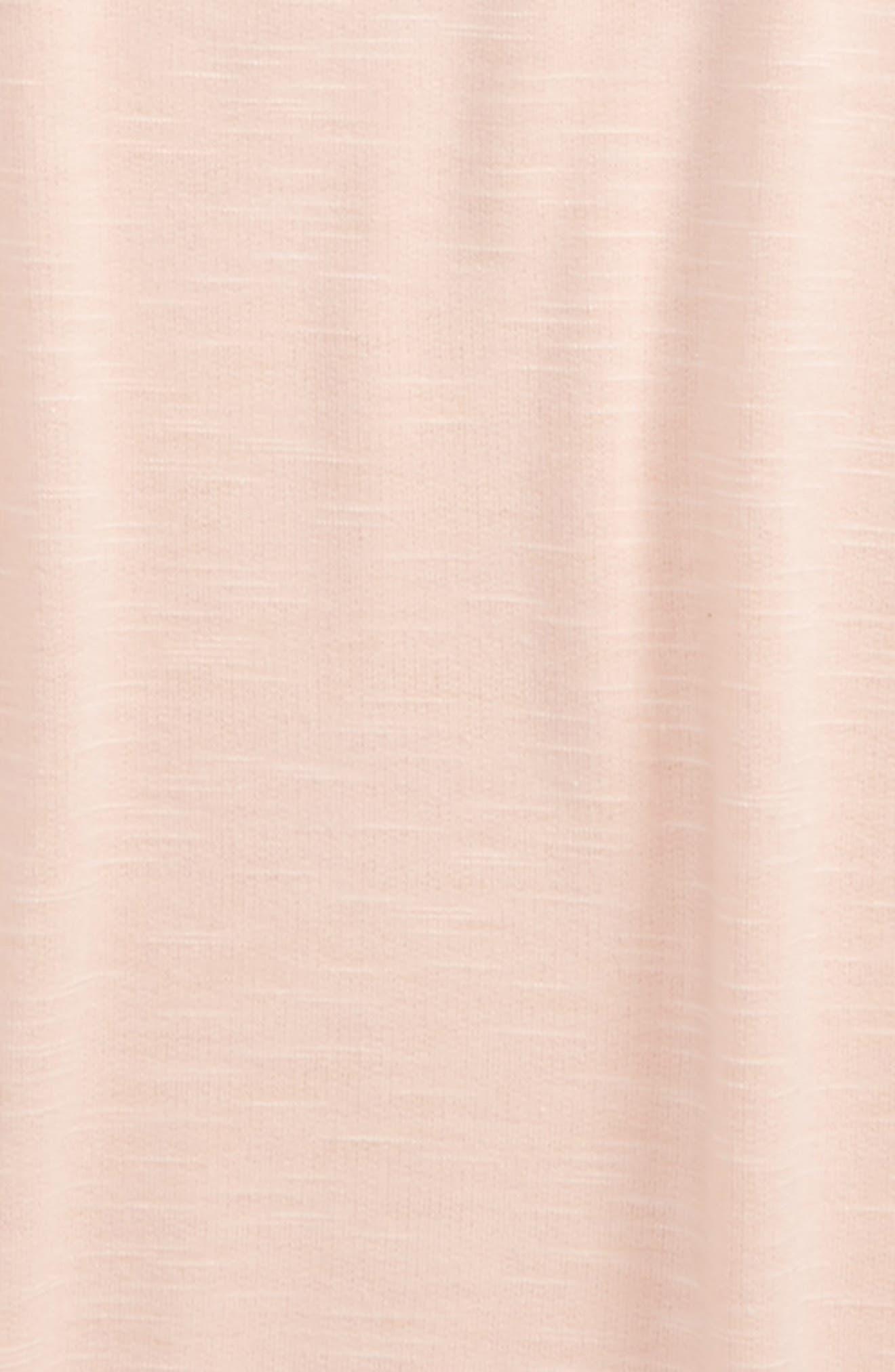 Imitation Pearl Embellished Sweatshirt,                             Alternate thumbnail 2, color,                             Blush