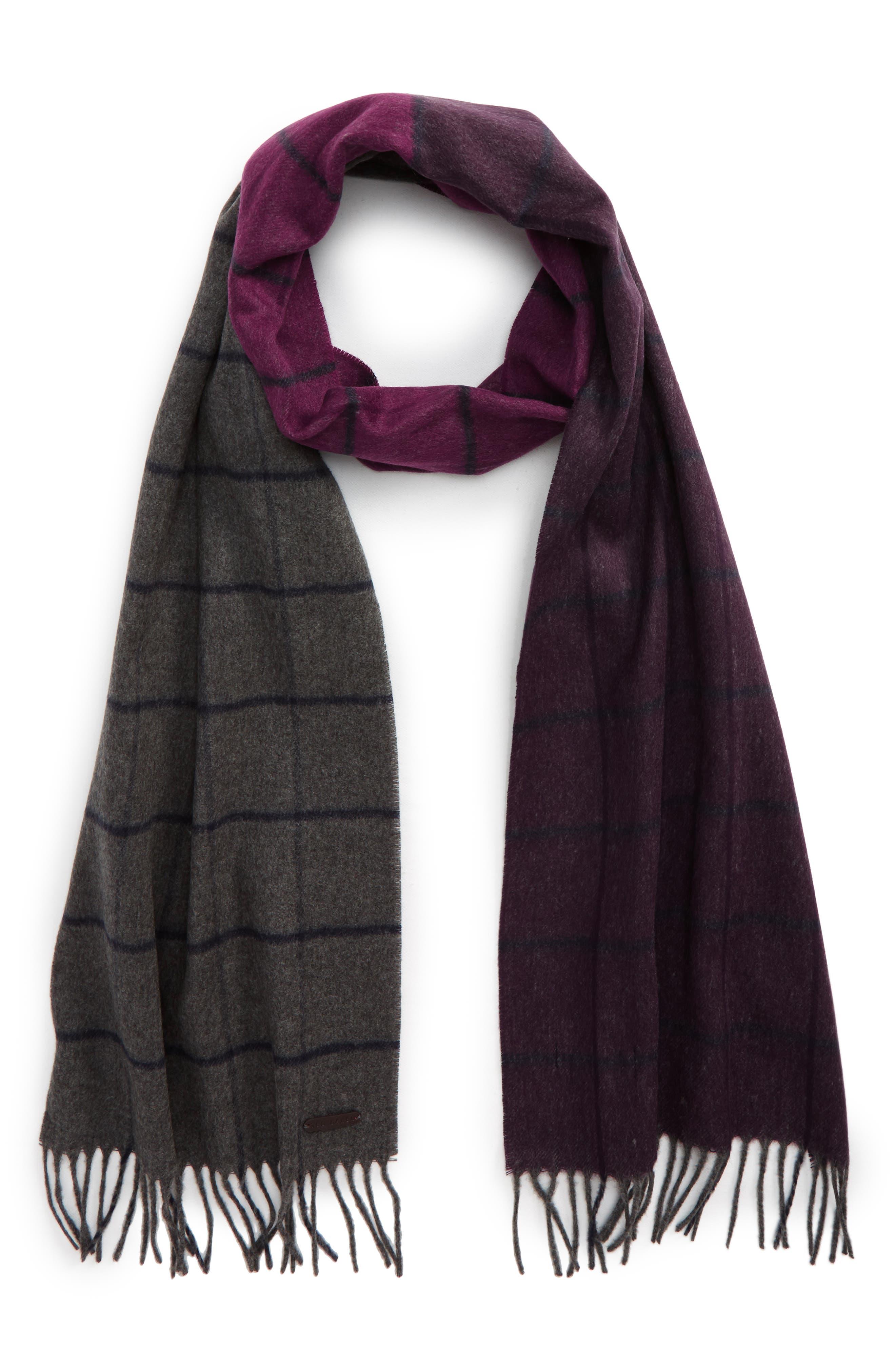 Hemlock Ombré Scarf,                         Main,                         color, Purple