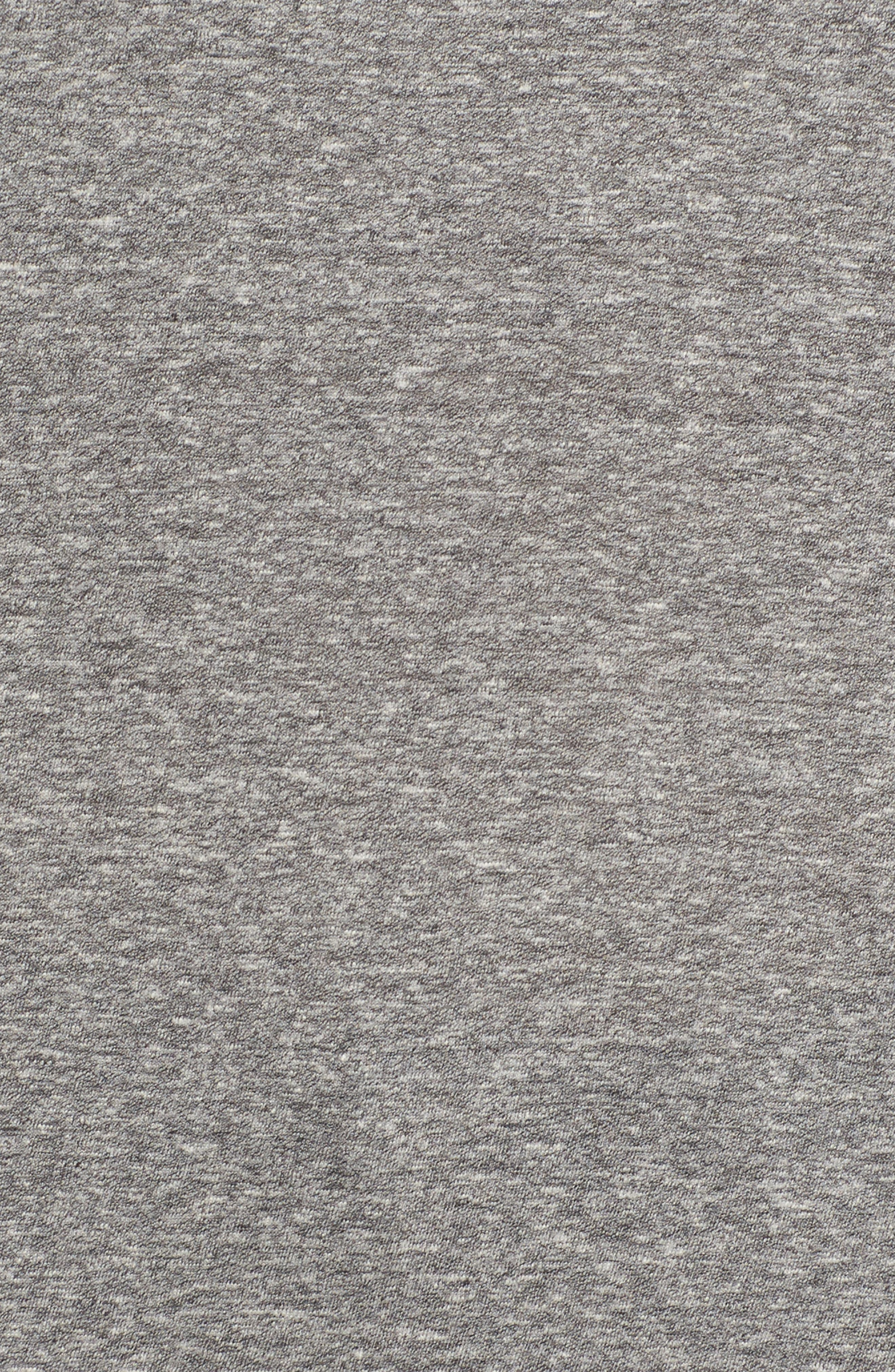 The High/Low Tee,                             Alternate thumbnail 5, color,                             Heather Grey Jersey