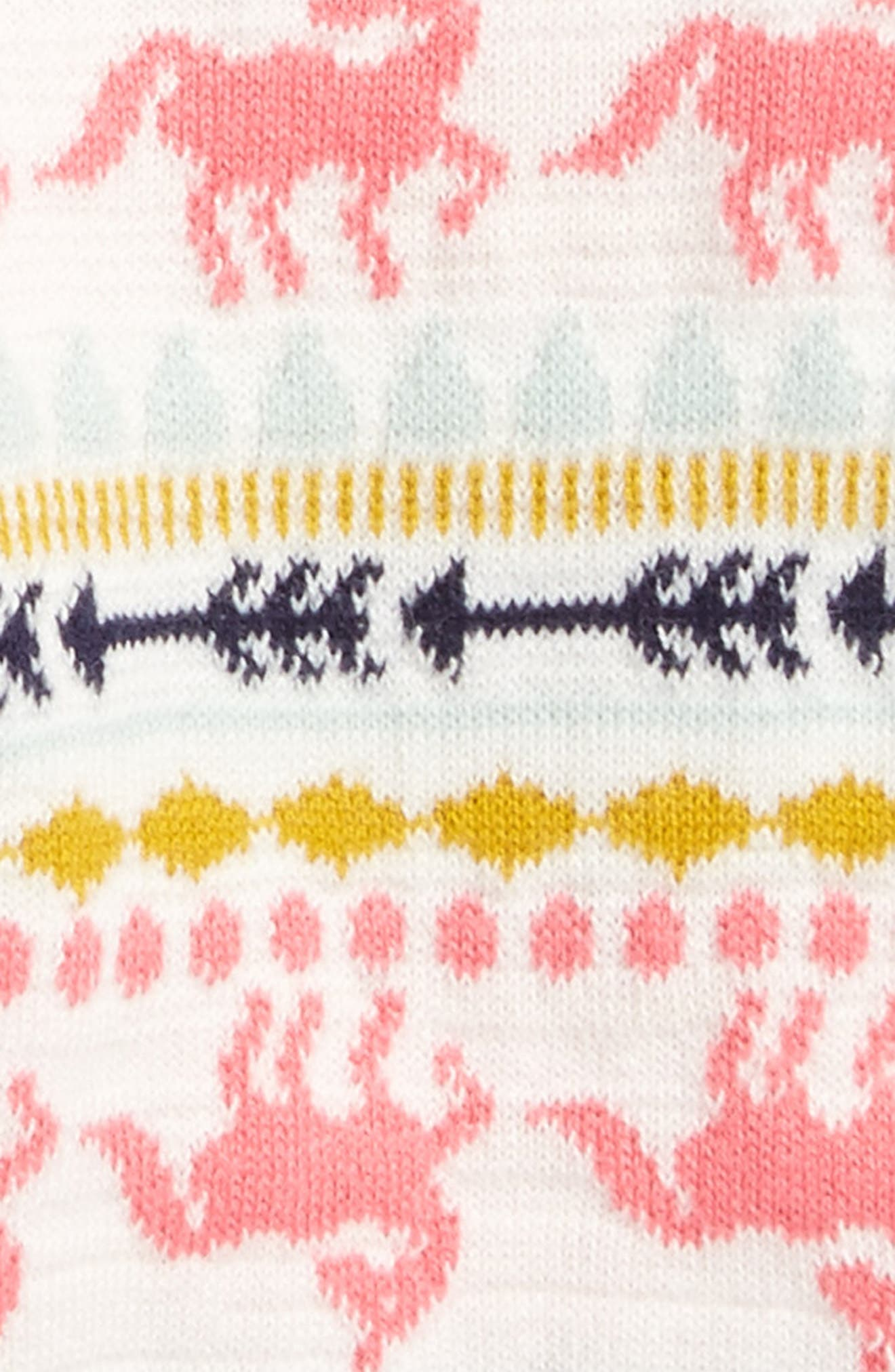 Alternate Image 2  - Tucker + Tate Fair Isle Leggings (Baby Girls)