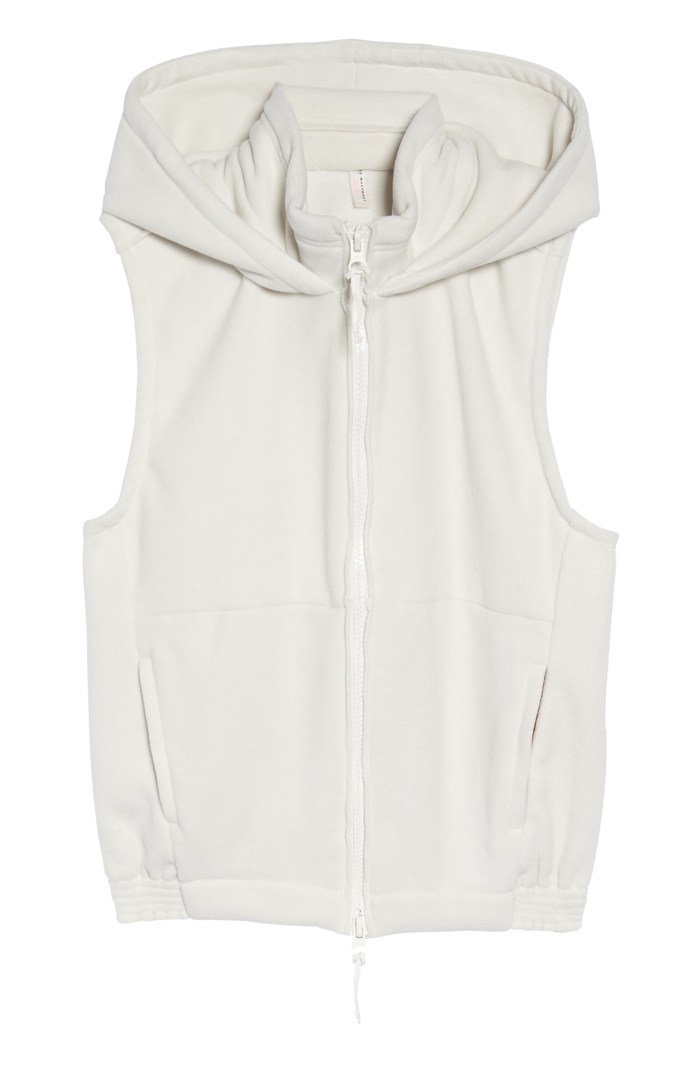 FP Movement Higher Ground Vest,                             Alternate thumbnail 7, color,                             White