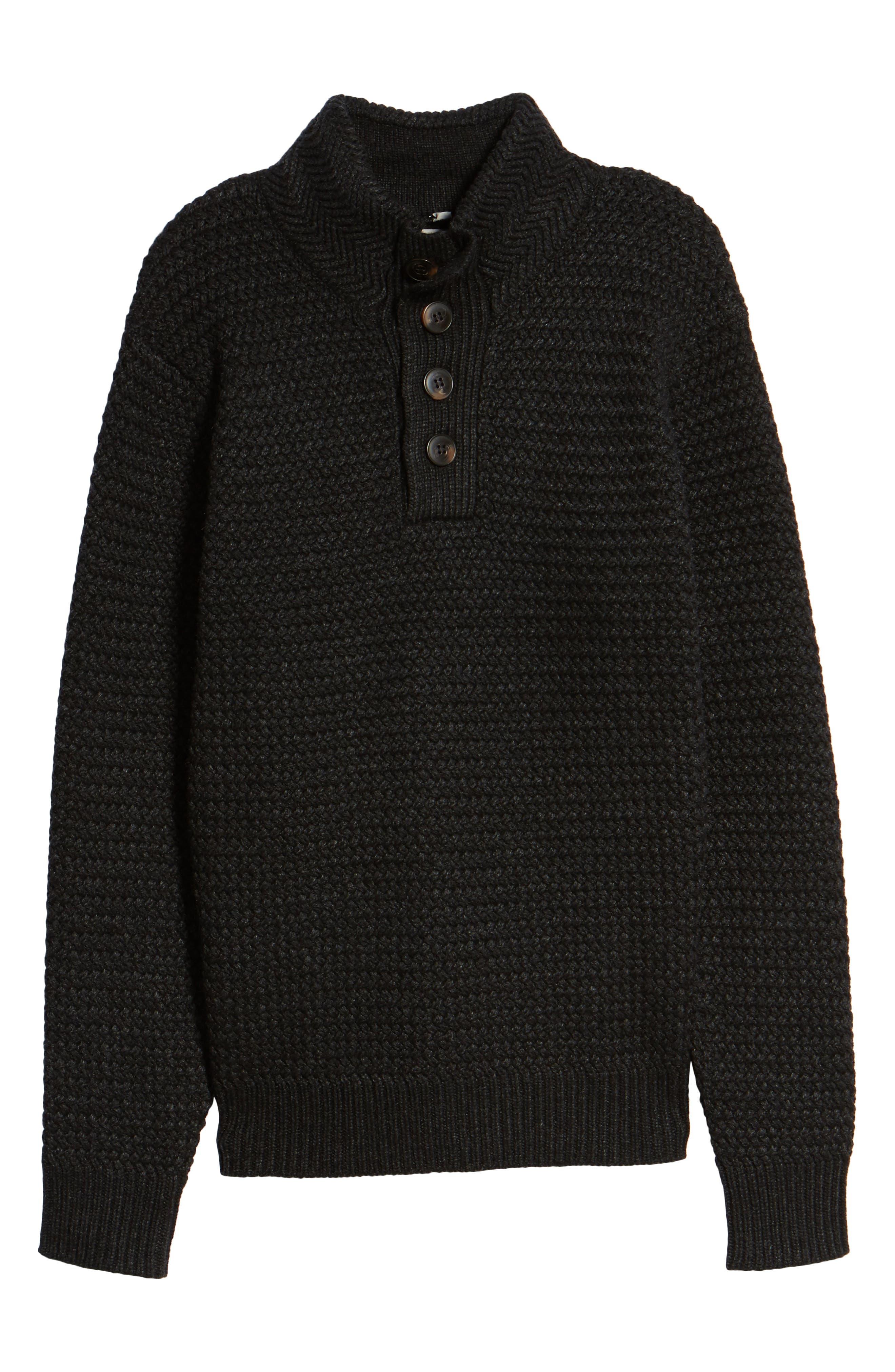 Alternate Image 6  - Schott NYC Military Henley Sweater