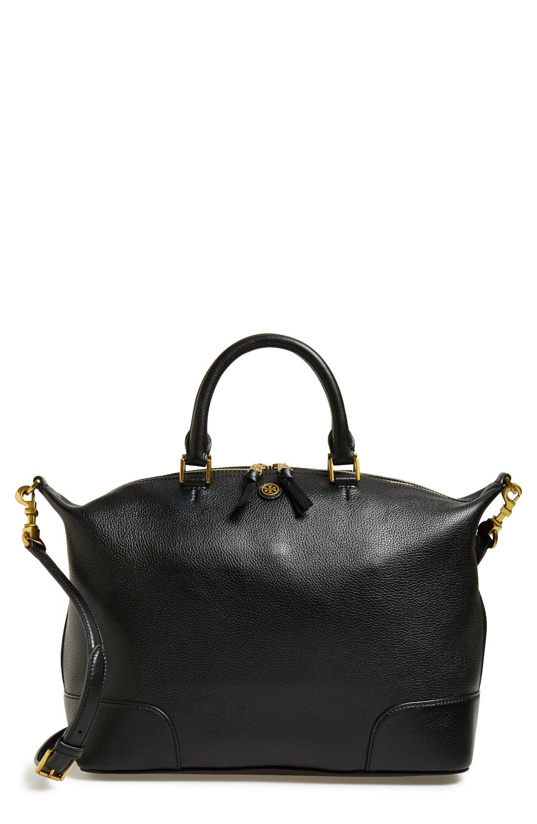 Main Image - Tory Burch 'Frances' Slouchy Leather Satchel