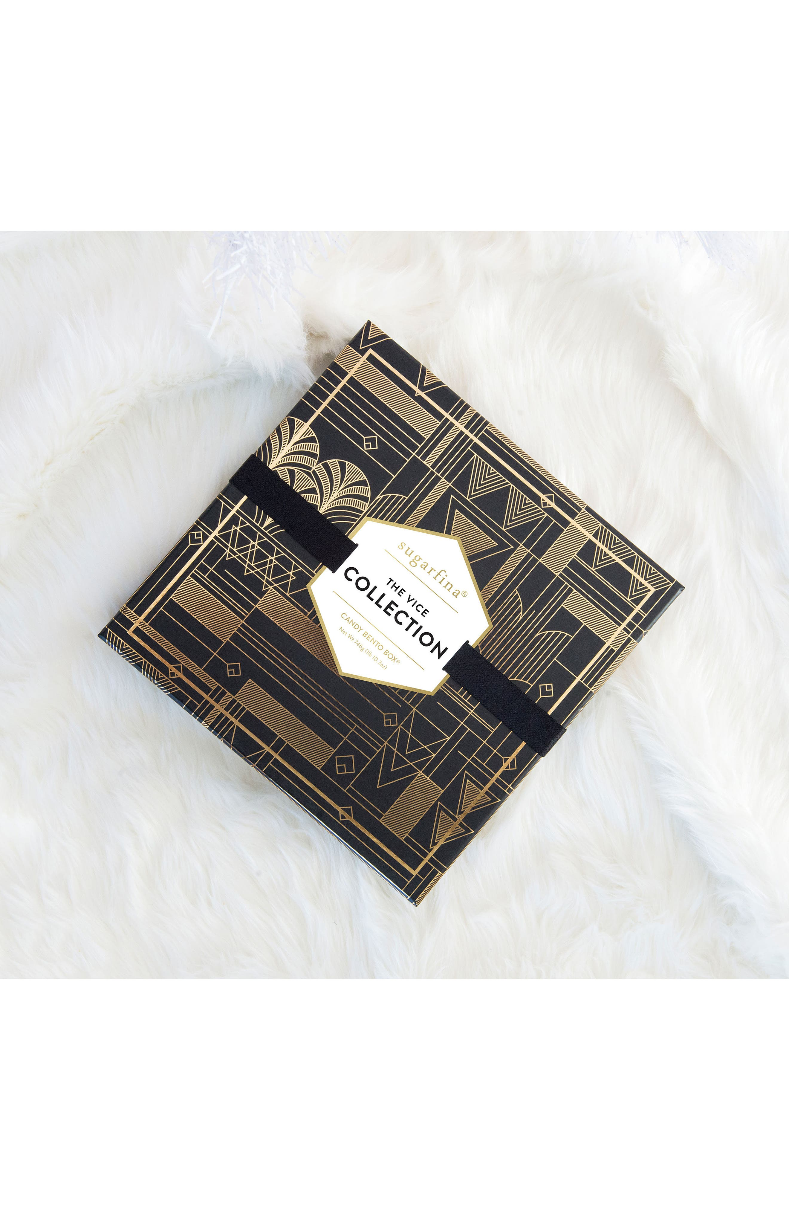 The Vice Collection 8-Piece Candy Bento Box,                             Alternate thumbnail 2, color,                             Black