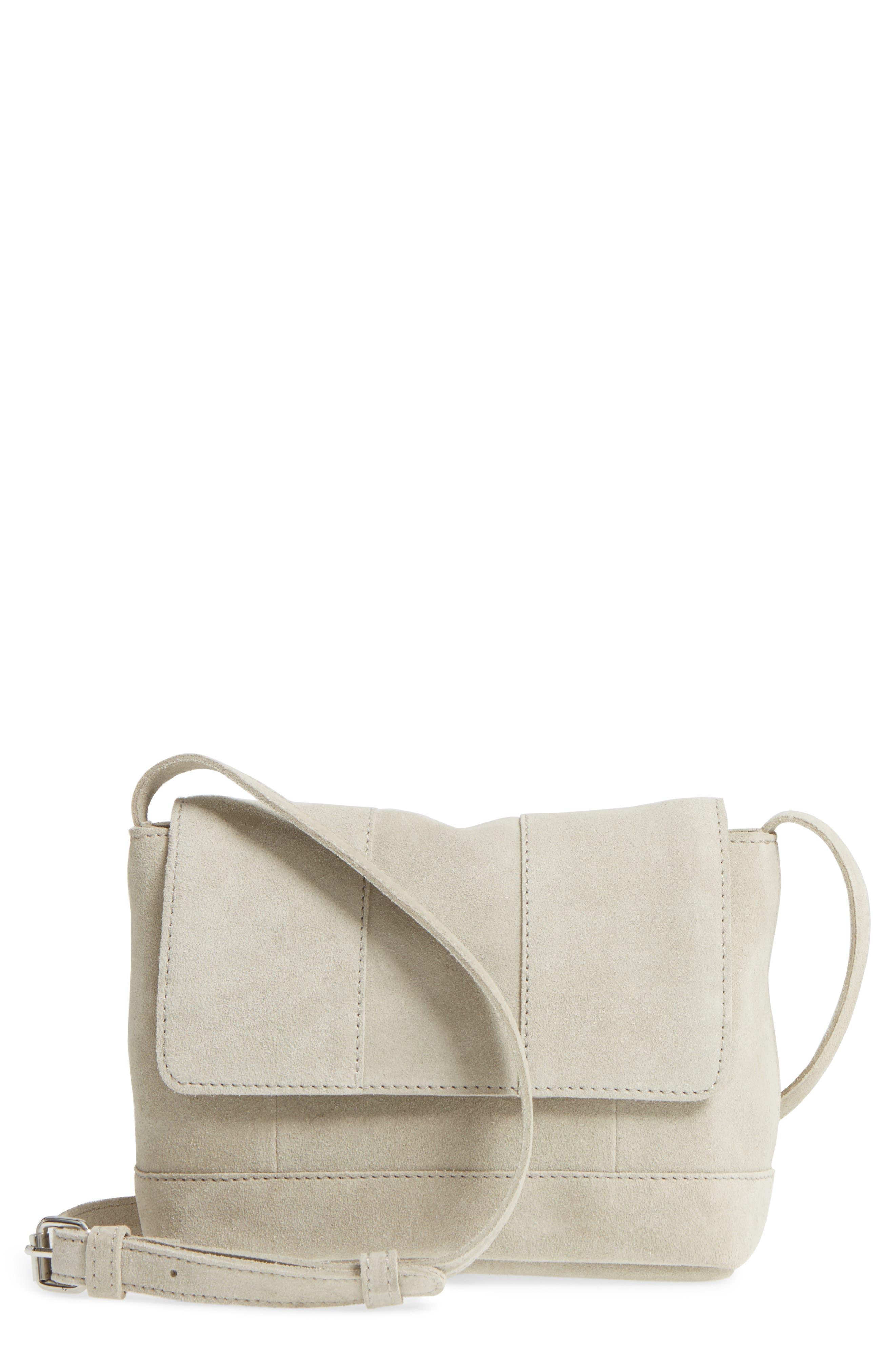 Leith Suede Crossbody Bag