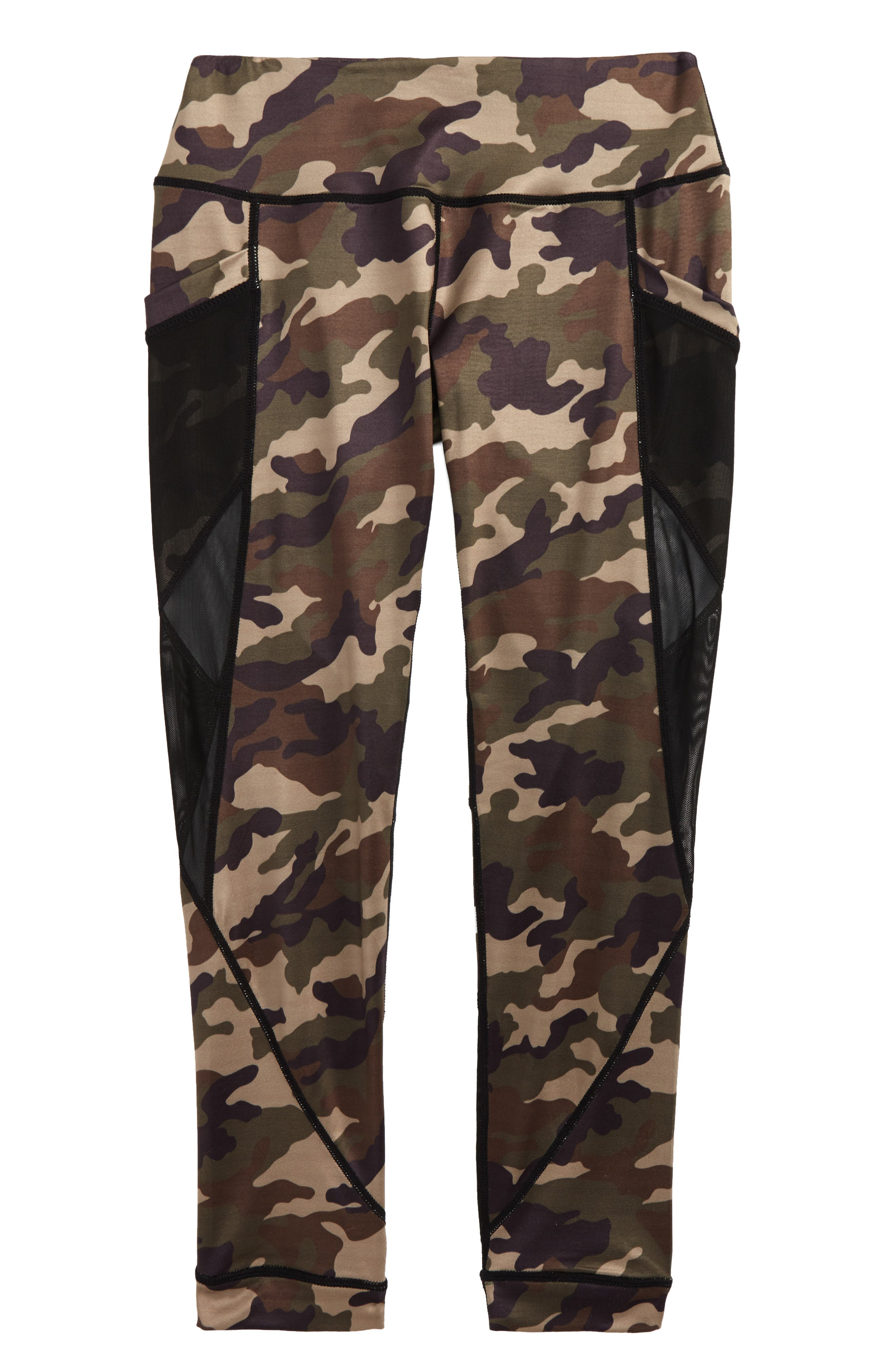 Miss Behave Laurie Camo MAX-DRI Leggings (Big Girls)