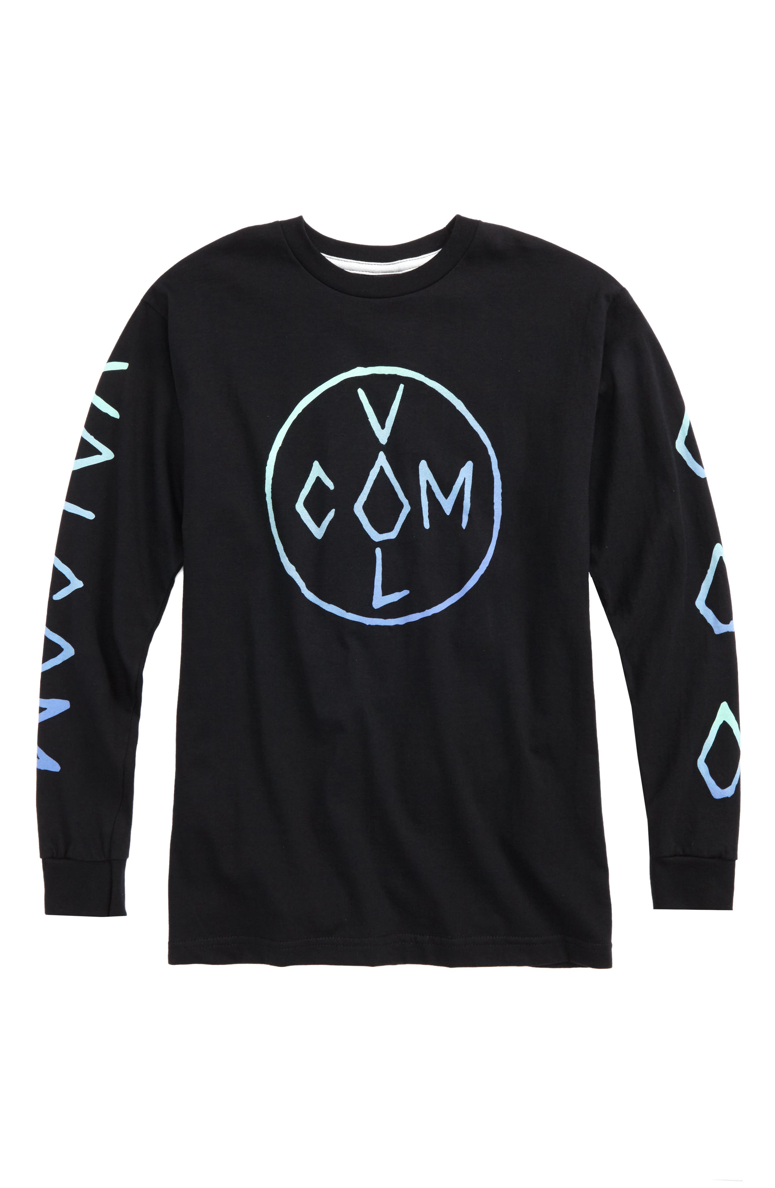 Volcom Cross Long Sleeve T-Shirt (Big Boys)
