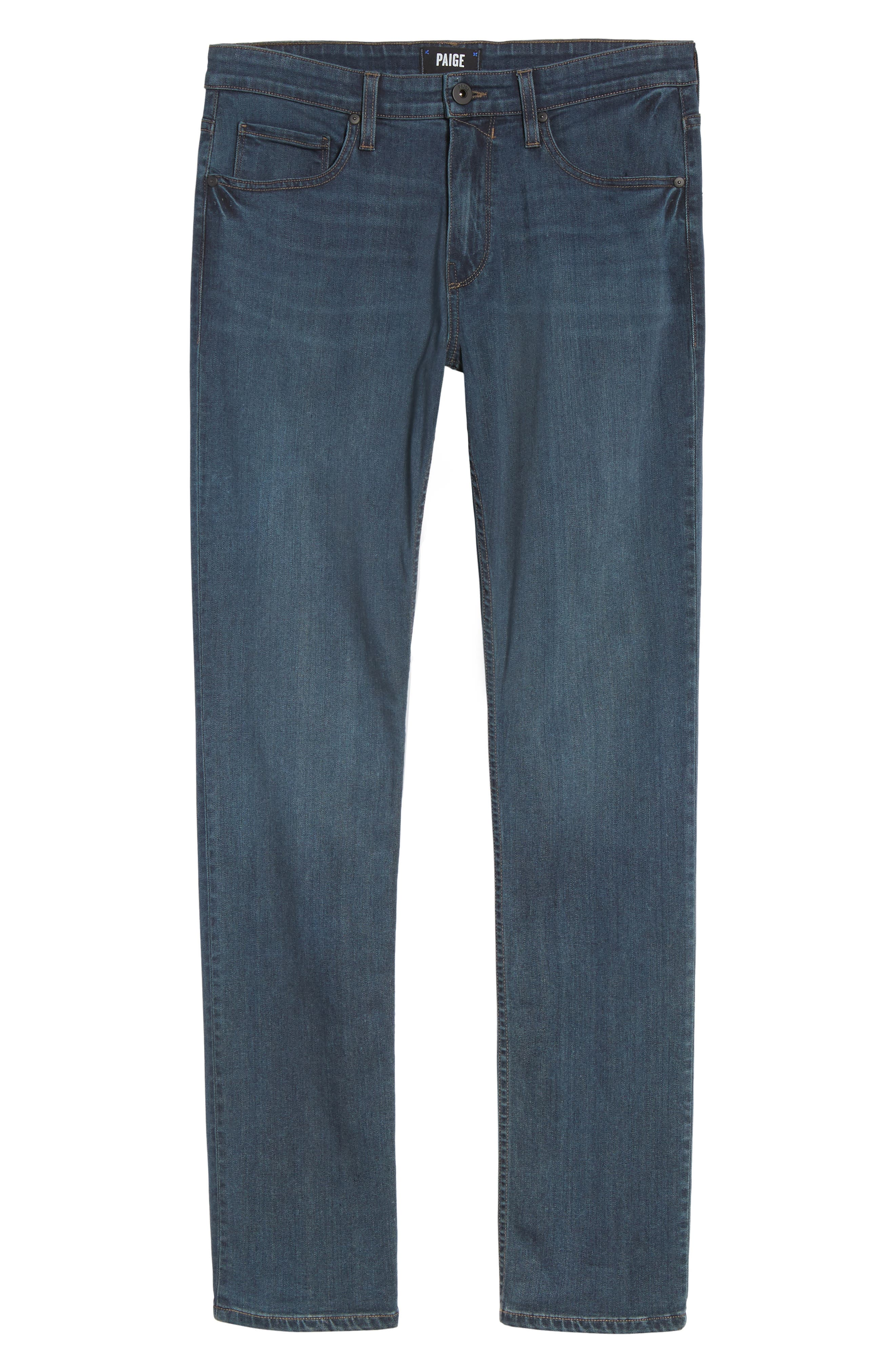 Federal Slim Straight Fit Jeans,                             Alternate thumbnail 6, color,                             Points