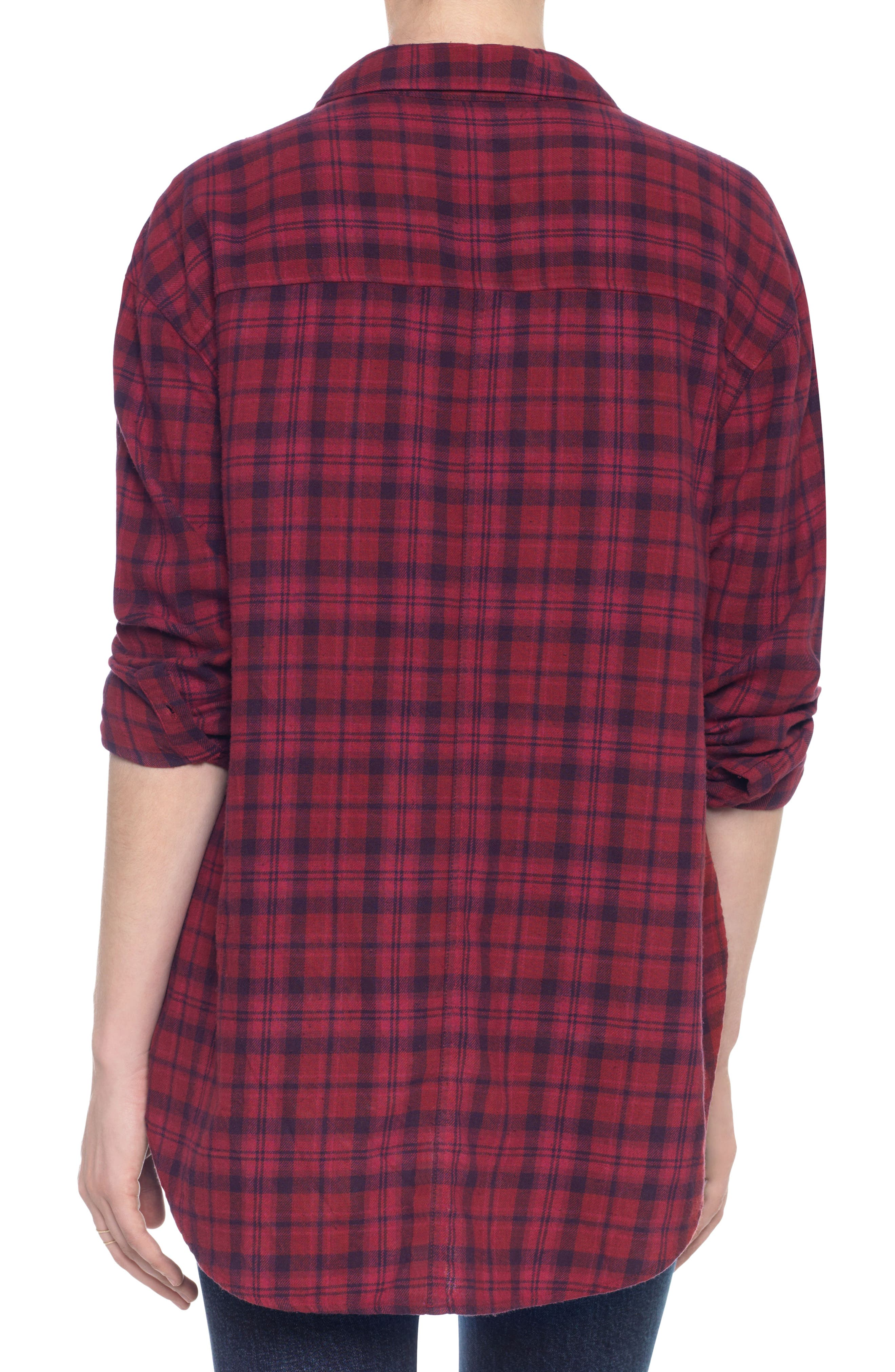 Alternate Image 3  - Taylor Hill x Joe's Boyfriend Flannel Shirt