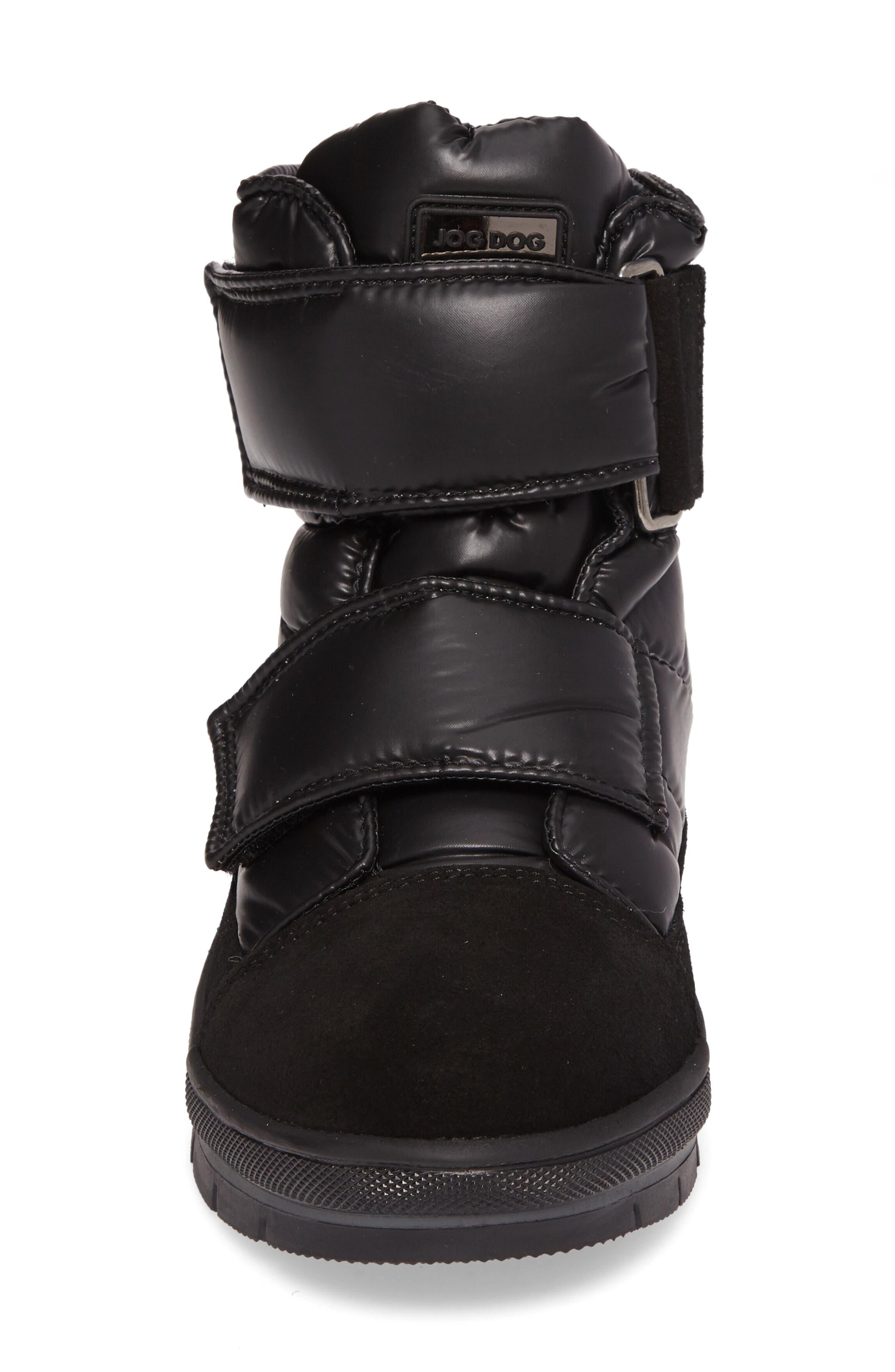 Gran Sasso Waterproof Boot,                             Alternate thumbnail 4, color,                             Black Baltico