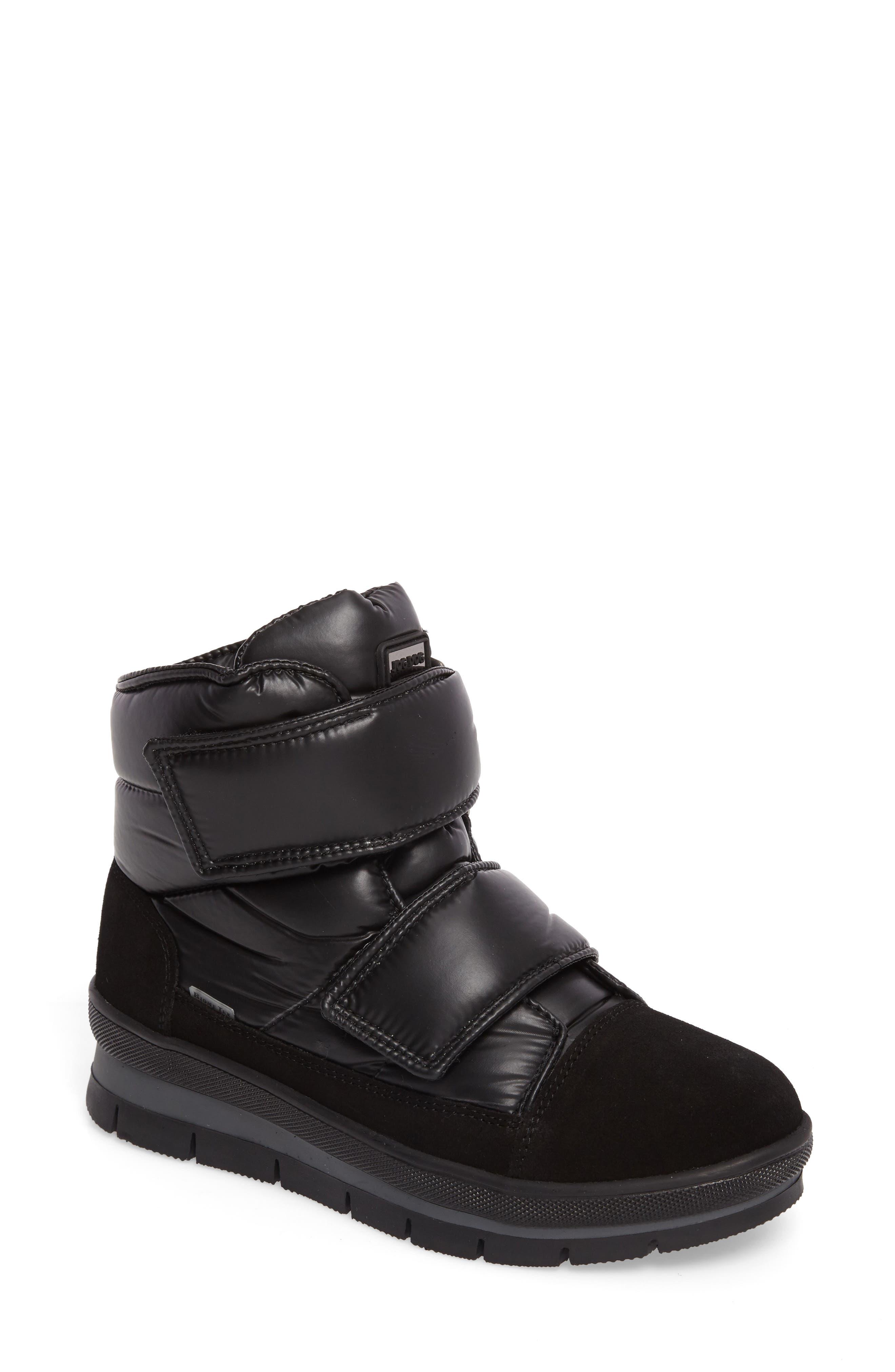 Gran Sasso Waterproof Boot,                             Main thumbnail 1, color,                             Black Baltico