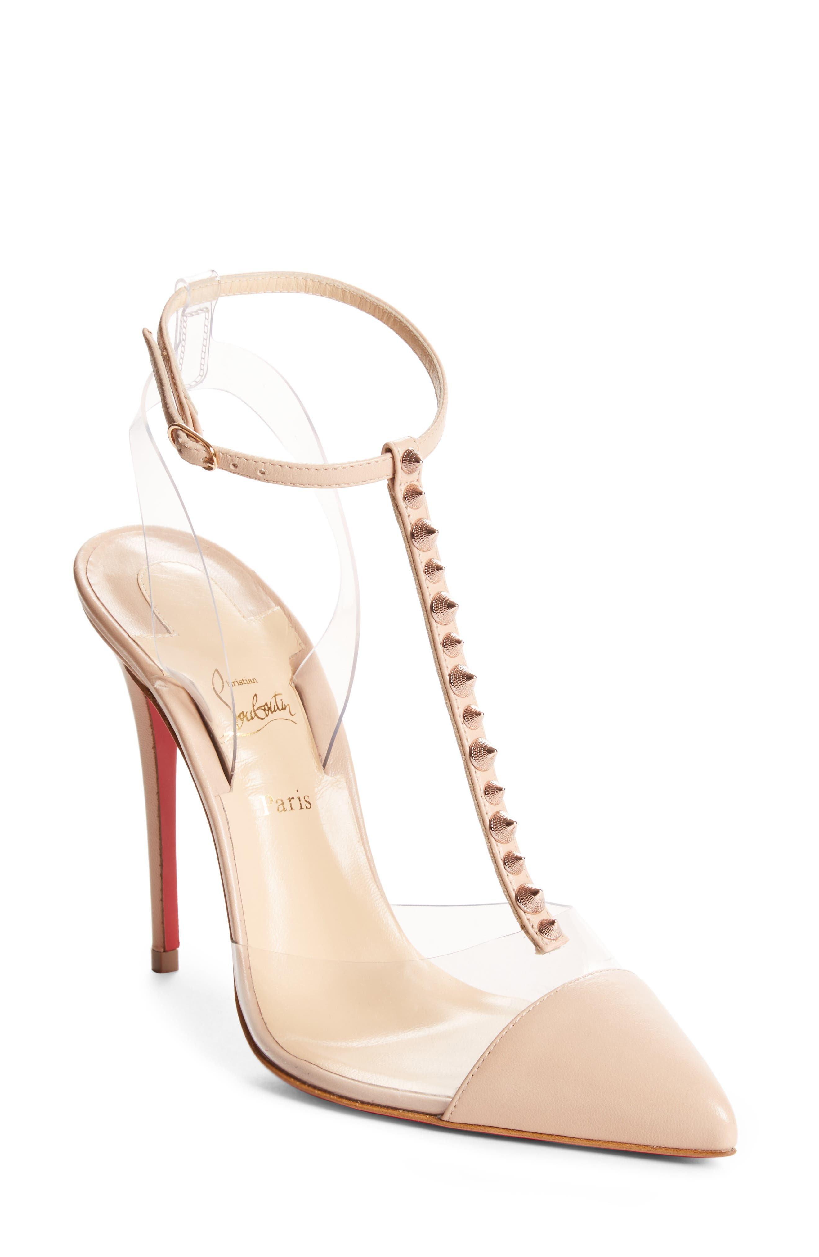 christian louboutin white pump