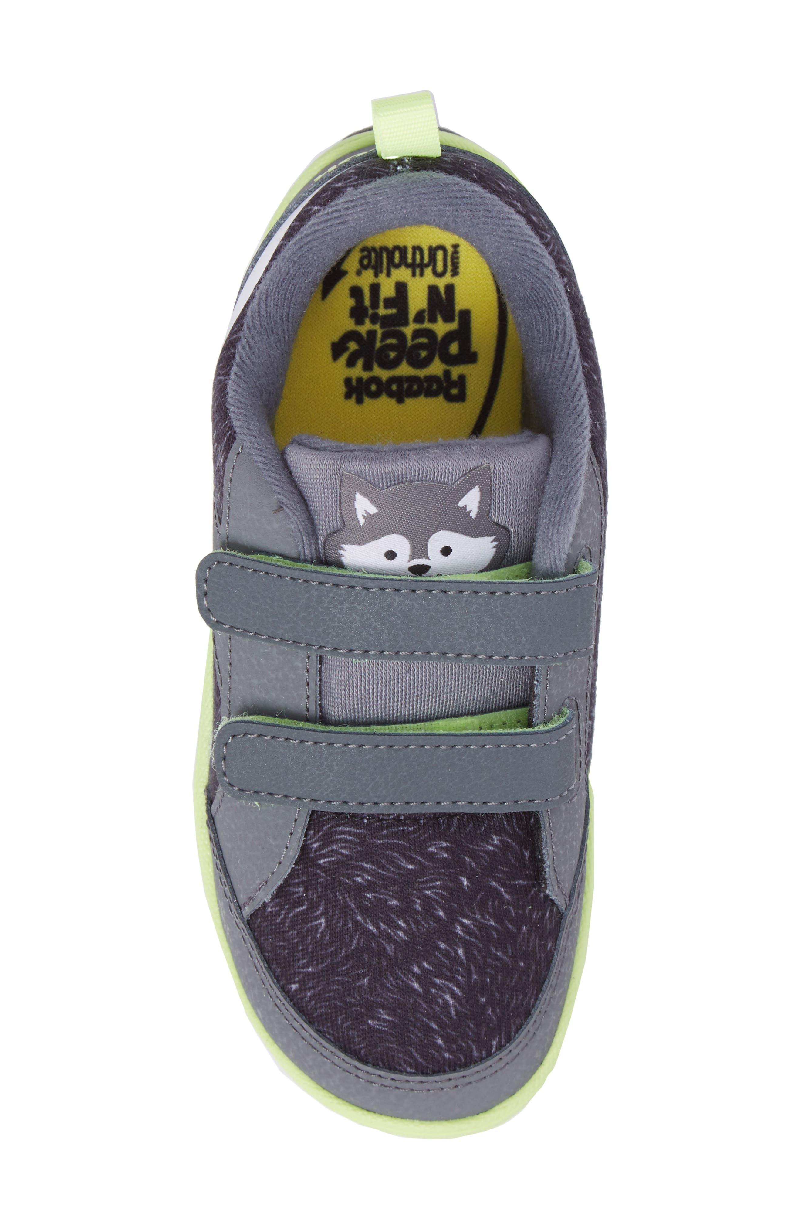 Alternate Image 5  - Reebok Ventureflex Critter Feet Sneaker (Baby, Walker & Toddler)