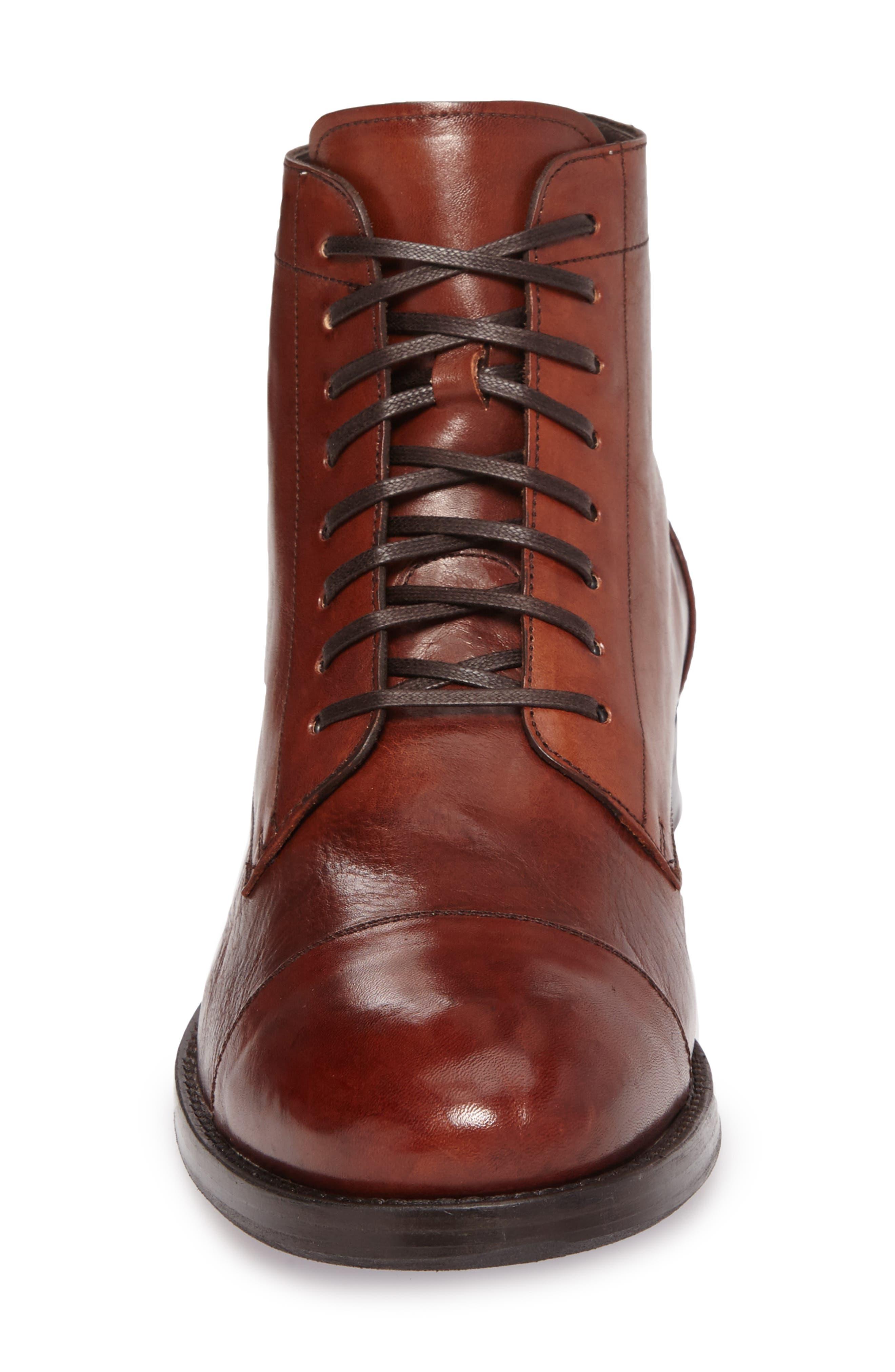 Alternate Image 4  - Maison Forte Murcie Cap Toe Boot (Men)