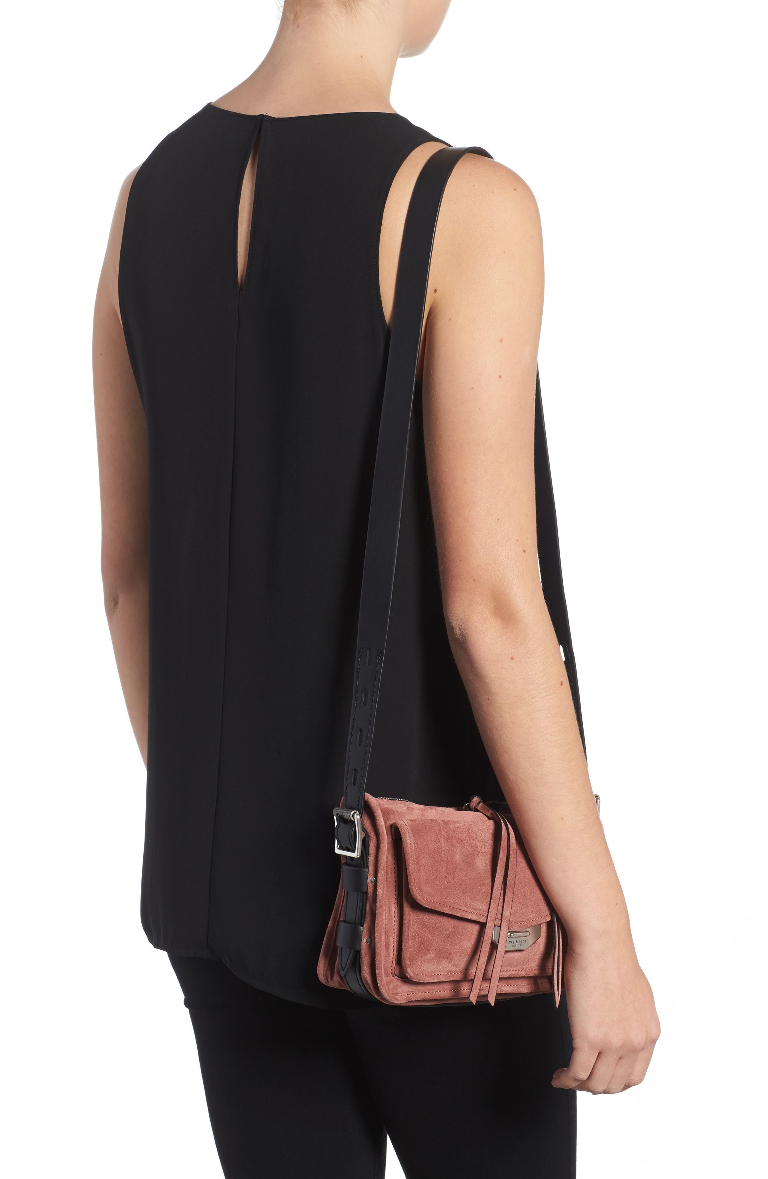 Alternate Image 2  - rag & bone Small Leather Field Messenger Bag