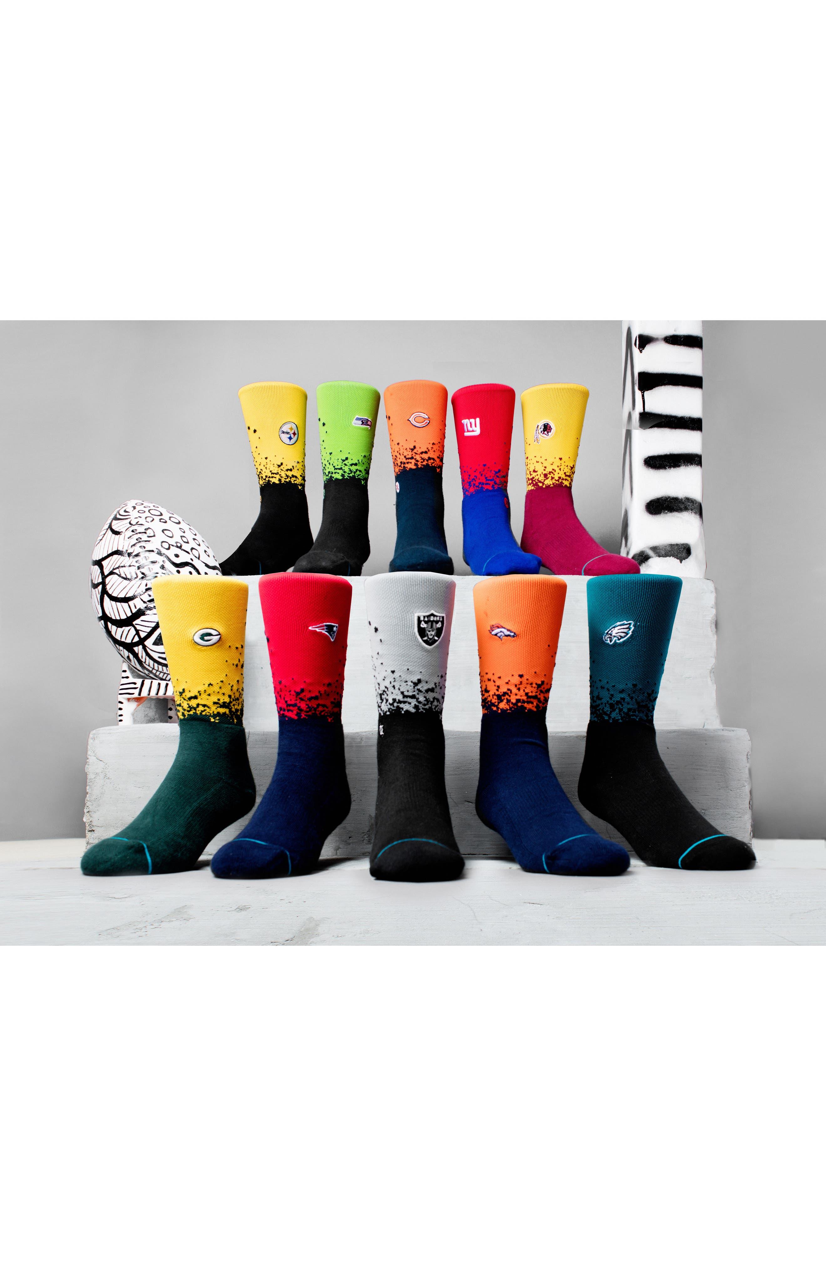 Alternate Image 4  - Stance Seattle Seahawks - Fade Socks