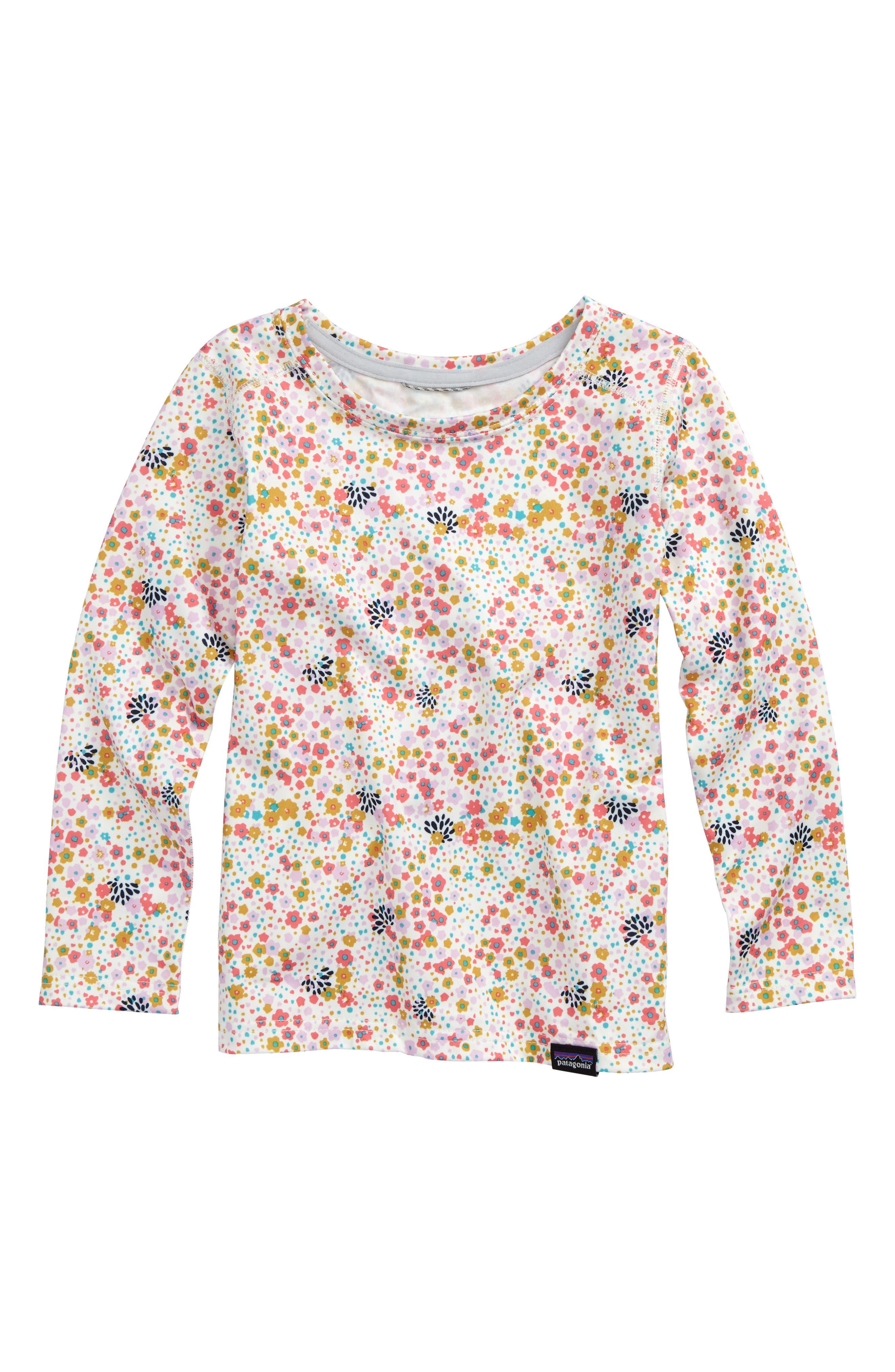 Patagonia Capilene Print Shirt (Toddler Girls & Little Girls)