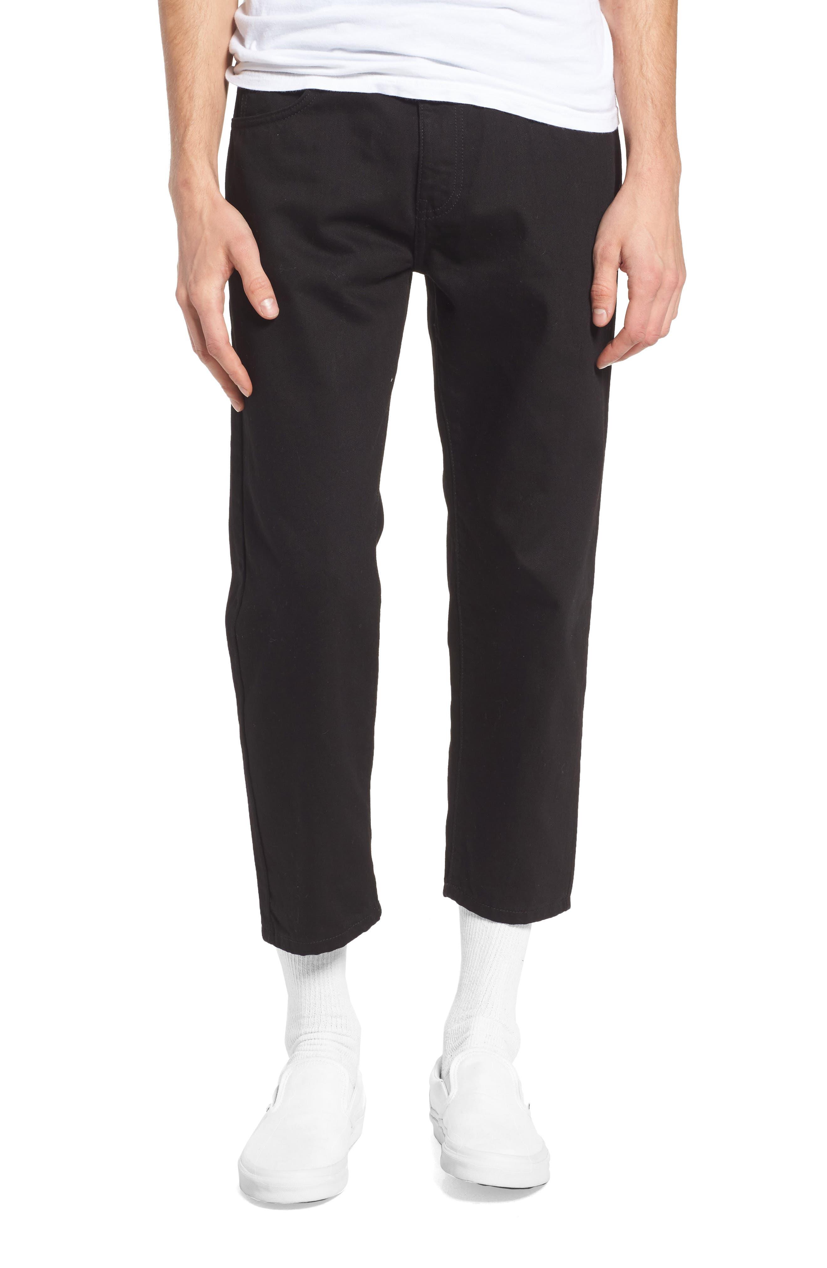 Dr. Denim Supply Co. Otis Straight Fit Crop Jeans