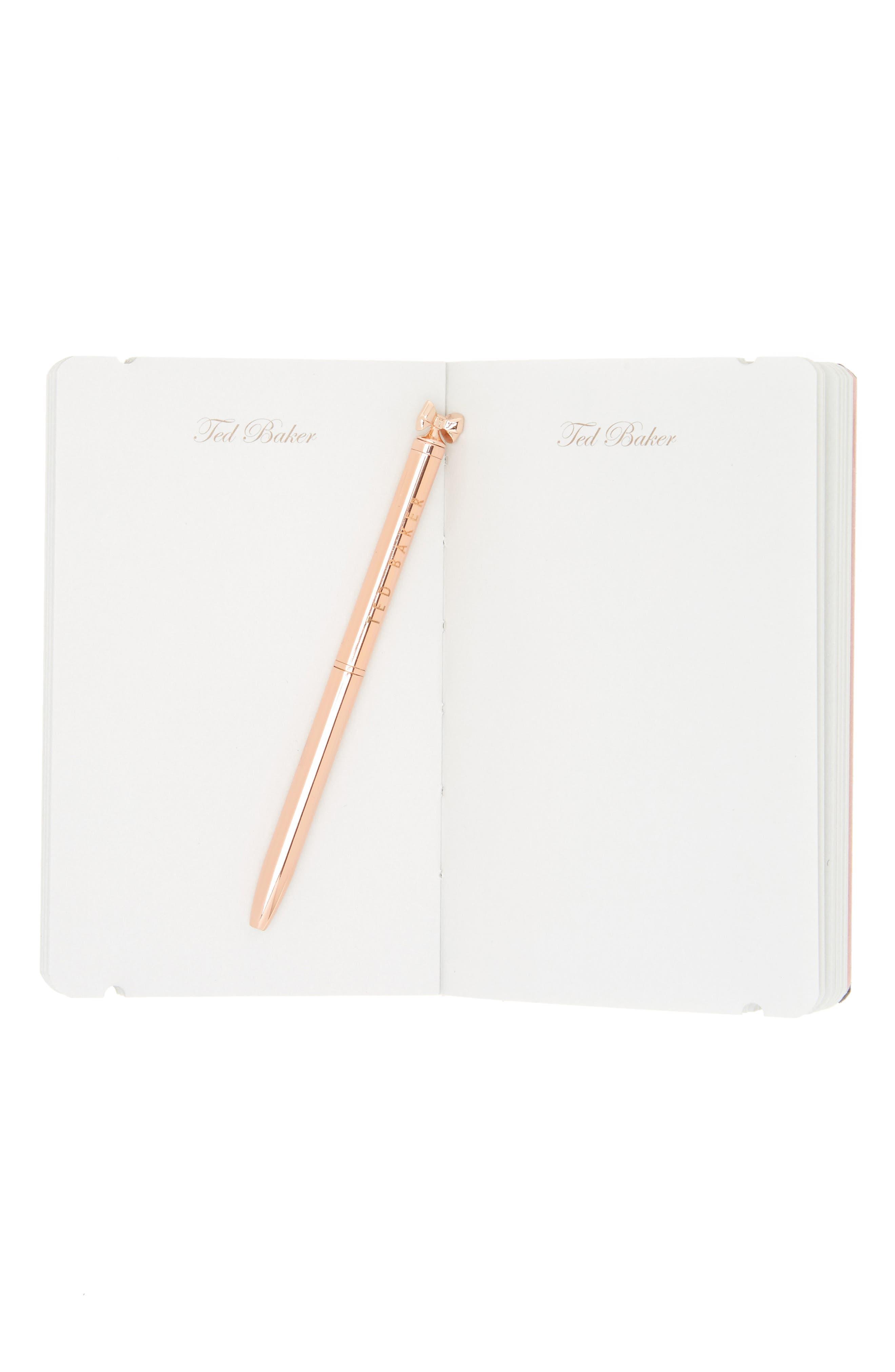 Alternate Image 2  - Ted Baker London Mini Notebook & Pen Set