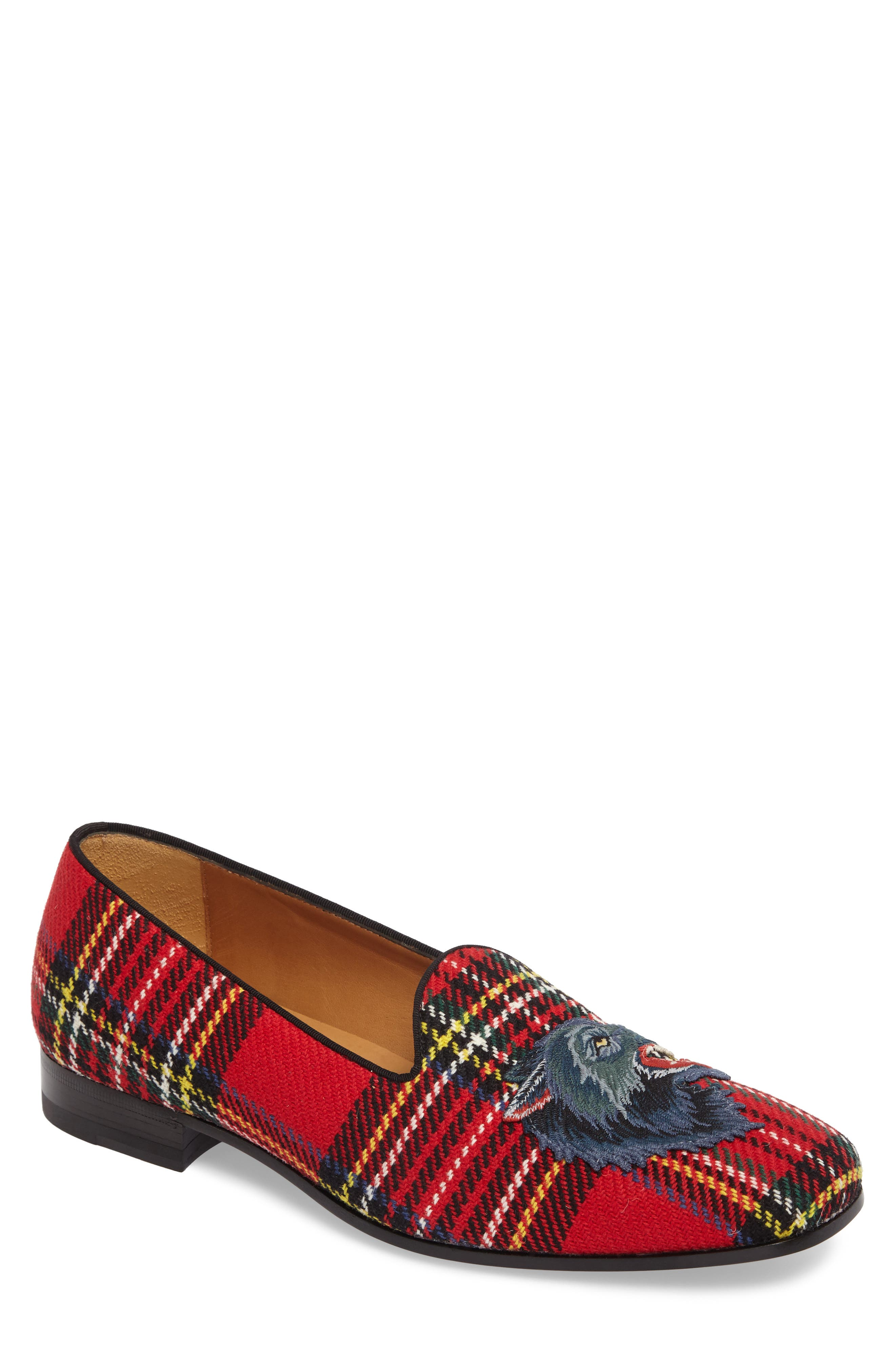 Alternate Image 1 Selected - Gucci New Gallipoli Wolf Loafer (Men)