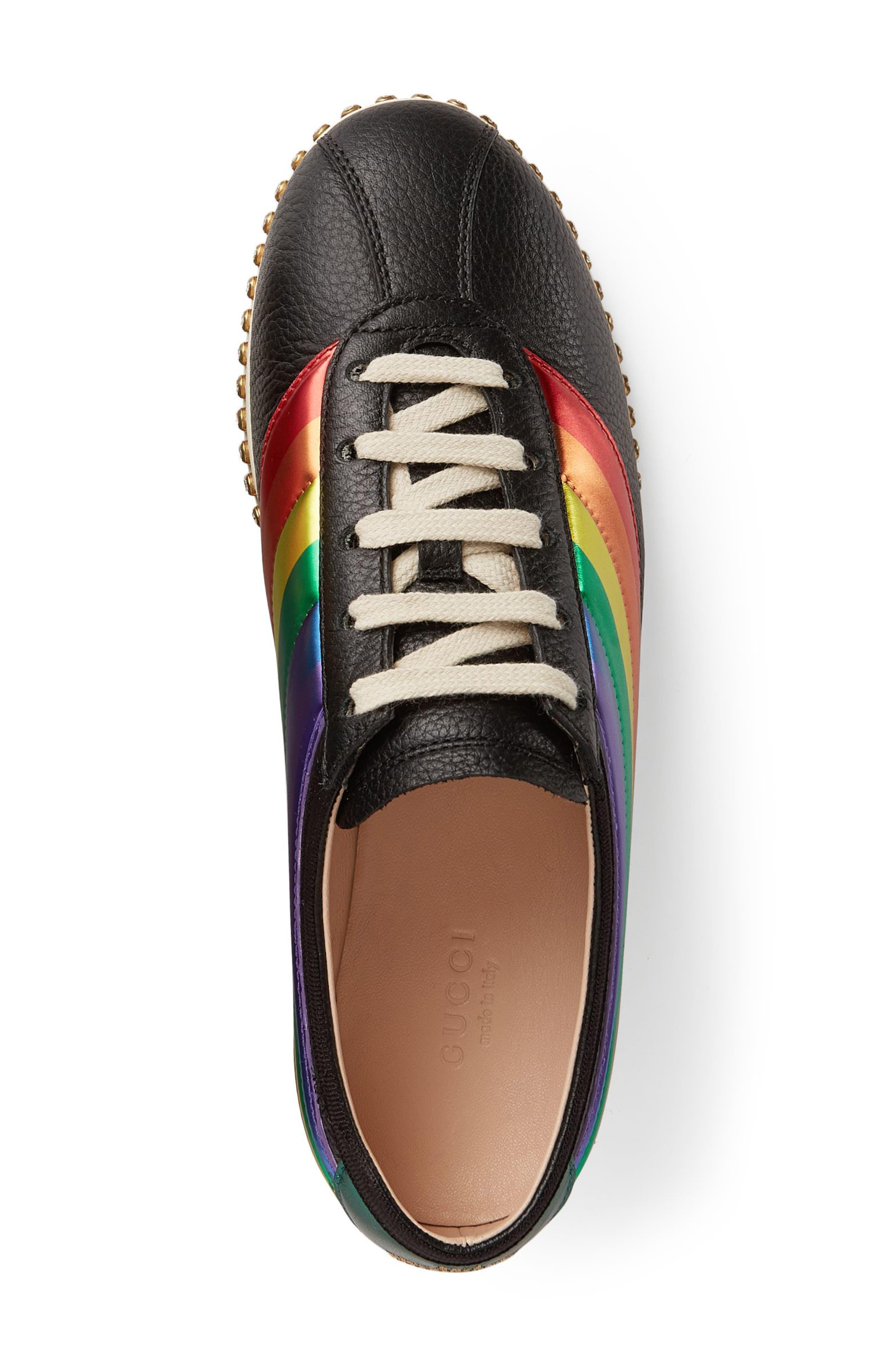 Falacer Sneaker,                             Alternate thumbnail 3, color,                             Black