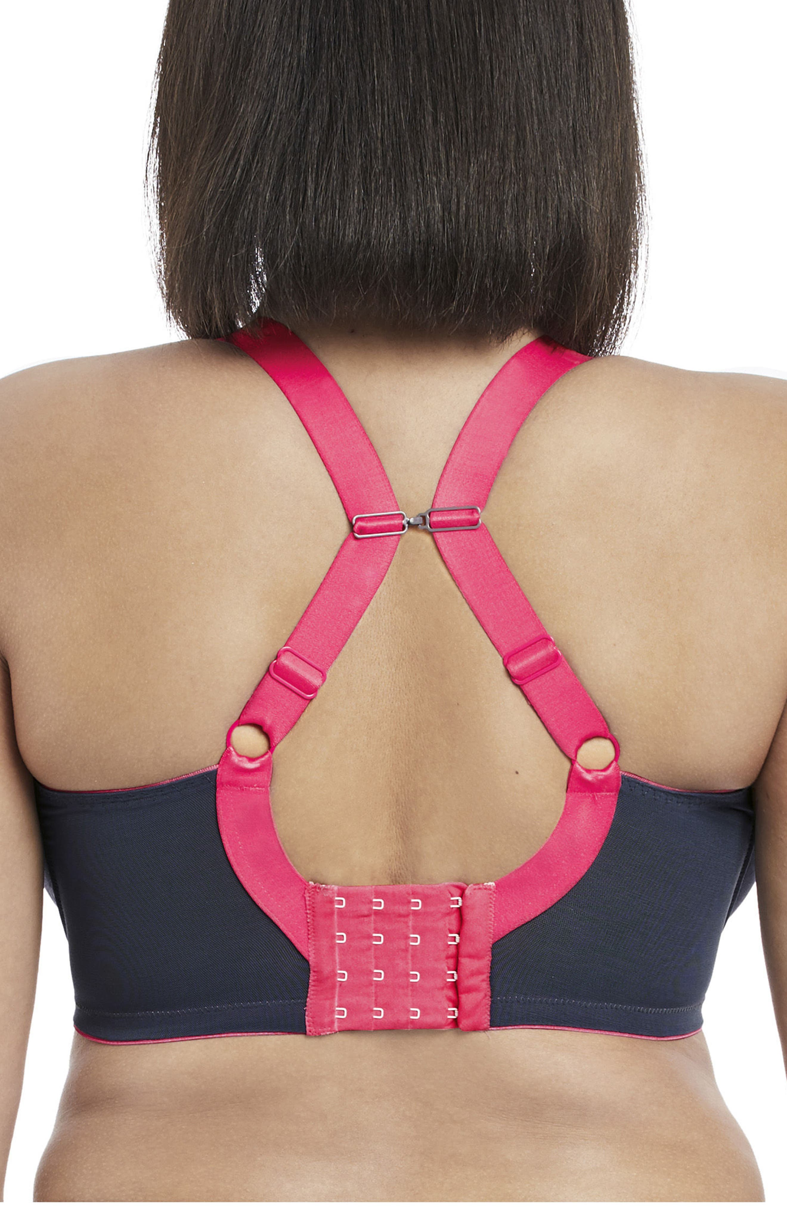 Alternate Image 3  - Elomi Energise Sports Bra (Plus Size)