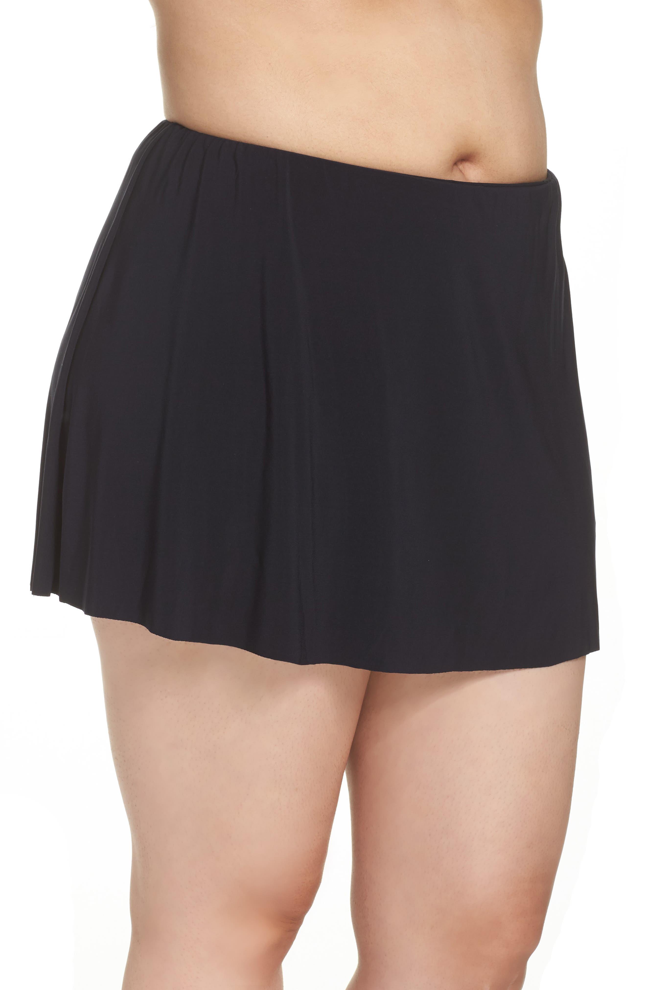 Alternate Image 3  - Magicsuit® Skirted Bikini Bottoms