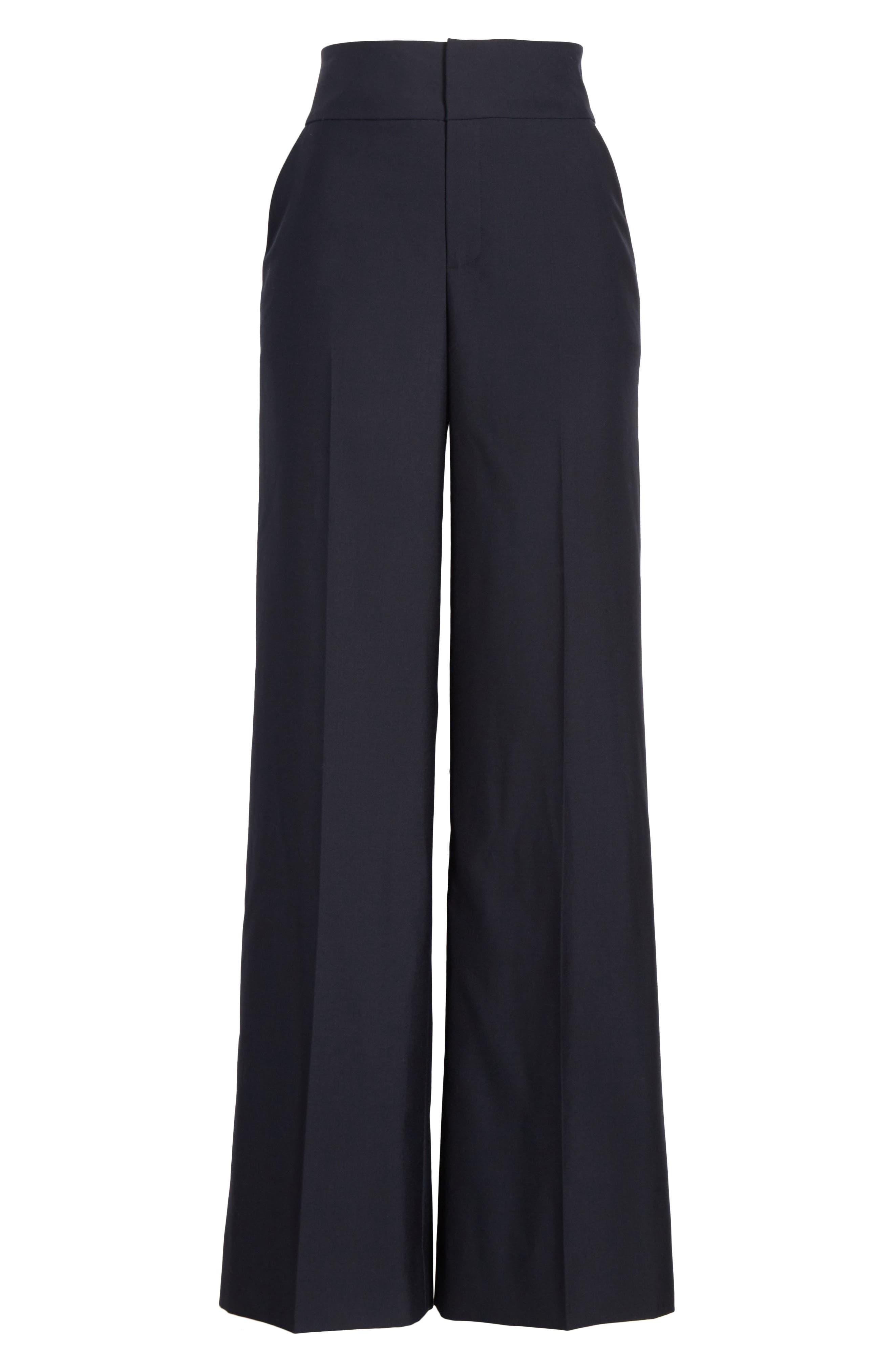 Alternate Image 7  - FRAME True Tux Wool Pants
