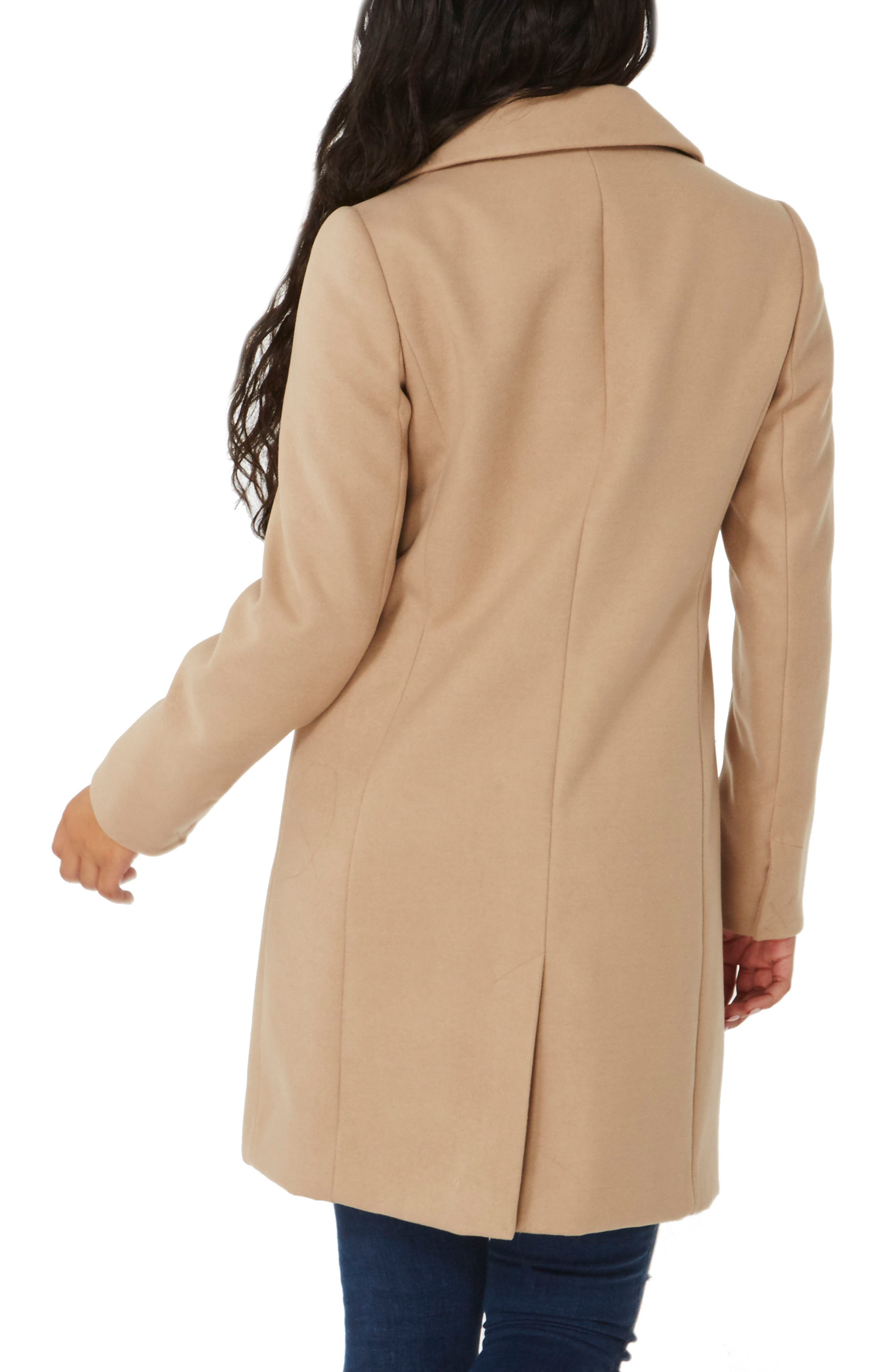 Single Breasted Coat,                             Alternate thumbnail 2, color,                             Camel