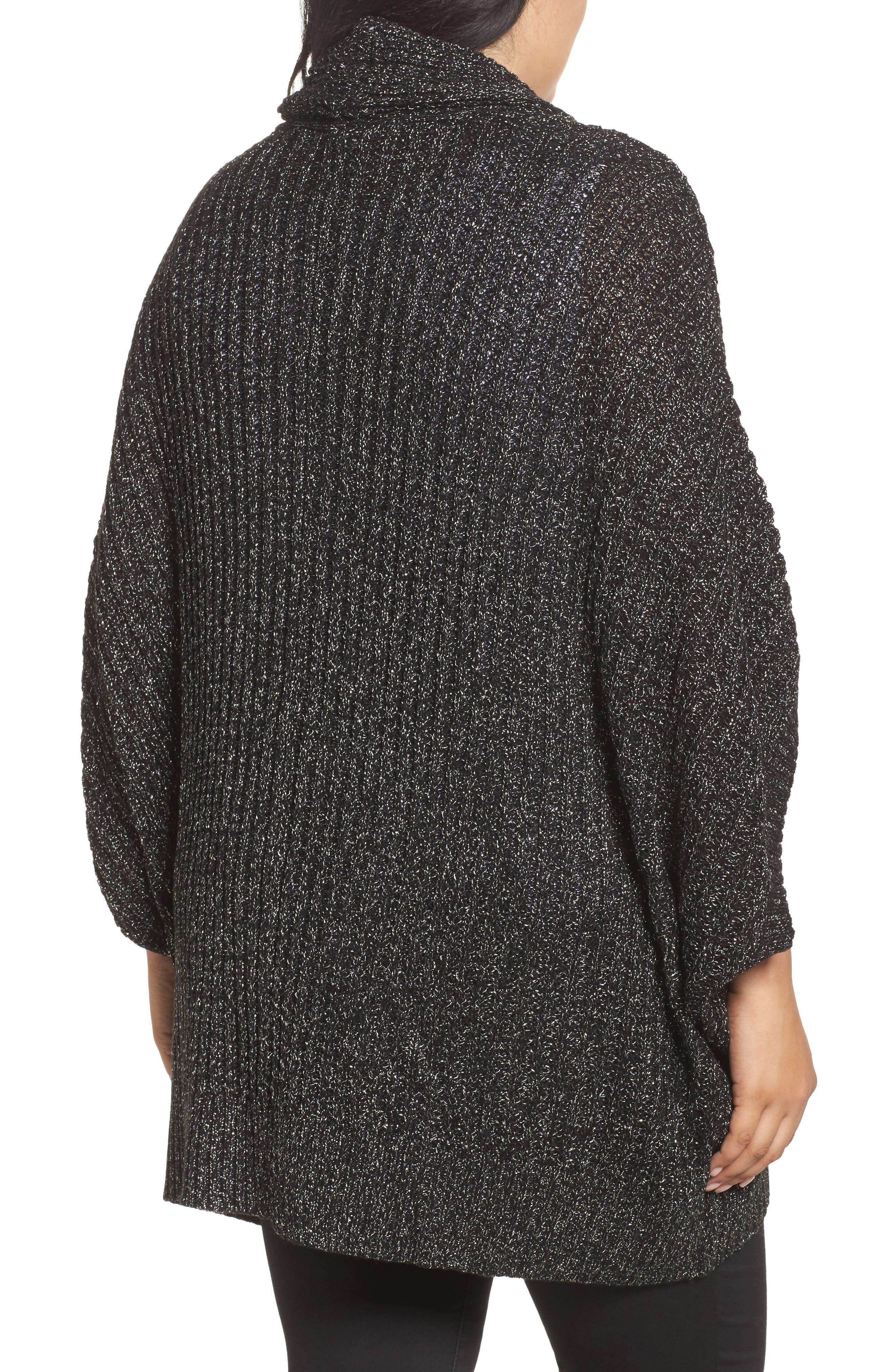 Alternate Image 2  - Melissa McCarthy Seven7 Cocoon Cardigan (Plus Size)