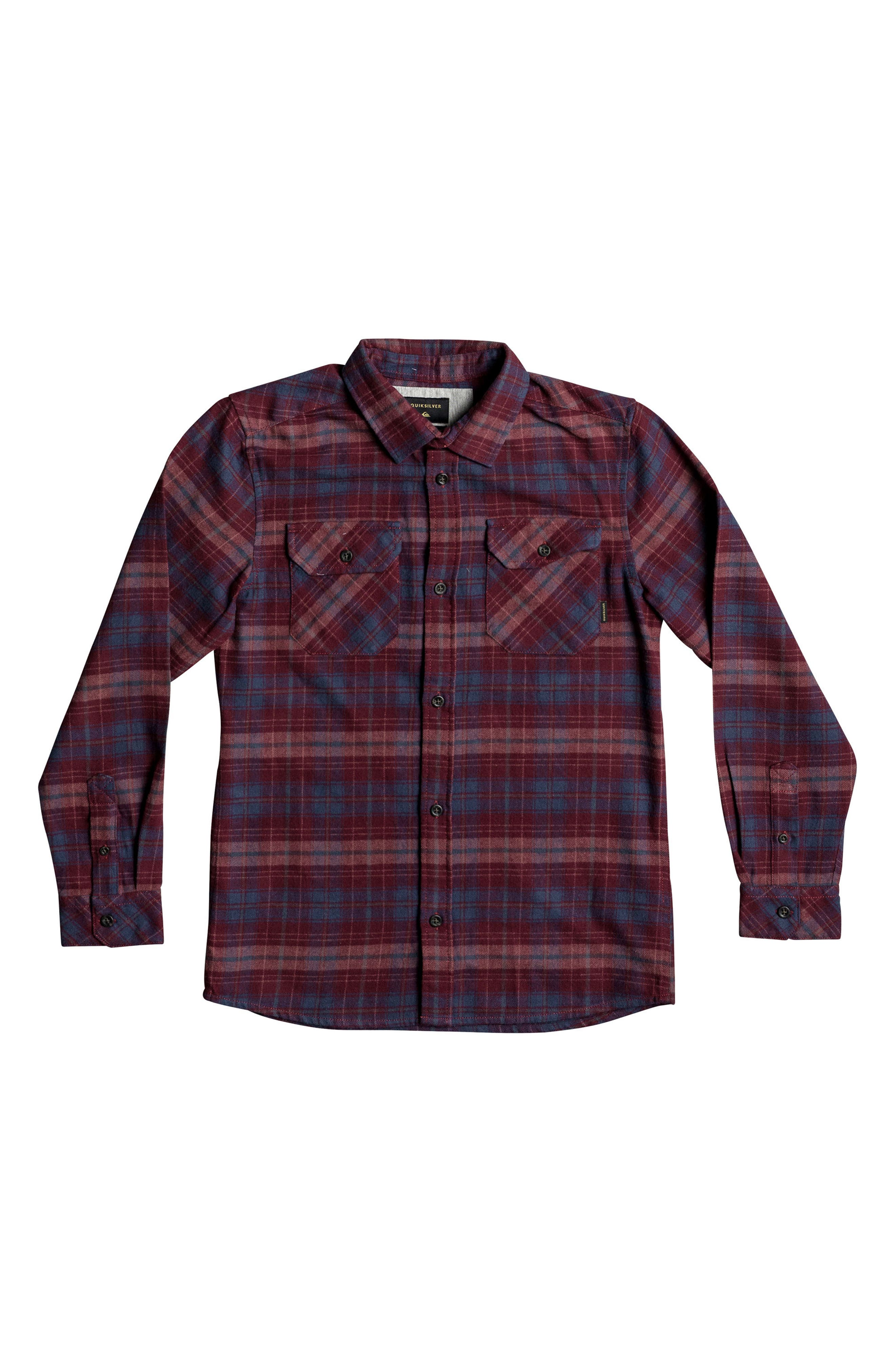 Fitzspeere Plaid Flannel Shirt,                             Main thumbnail 1, color,                             Winsdsor