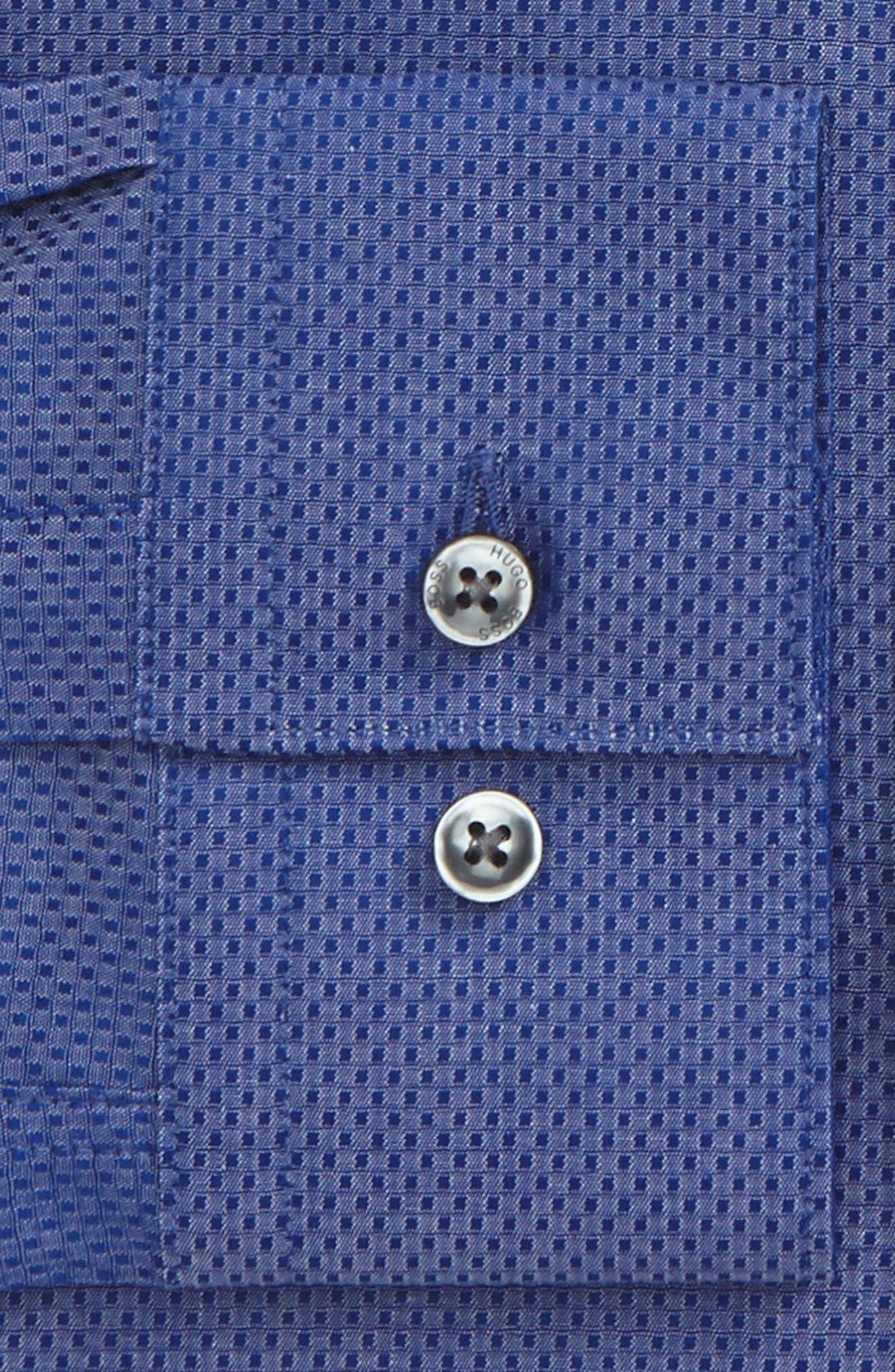 Alternate Image 2  - BOSS Isko Slim Fit Textured Dress Shirt