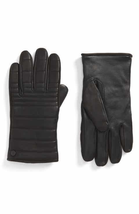 Men S Gloves Leather Knit Amp Convertible Nordstrom