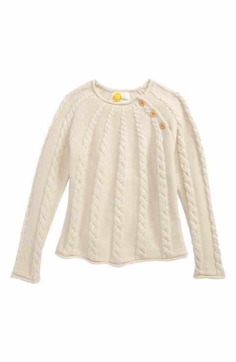 Little Girls' White Sweaters: Cardigans, Crewnecks & Knits | Nordstrom