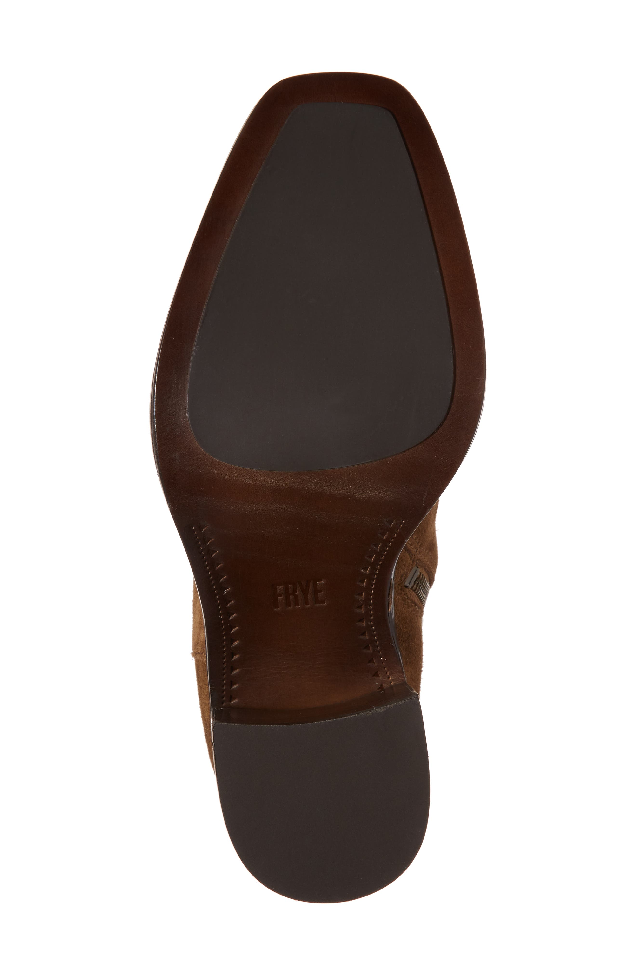 Pia Boot,                             Alternate thumbnail 6, color,                             Chestnut Suede