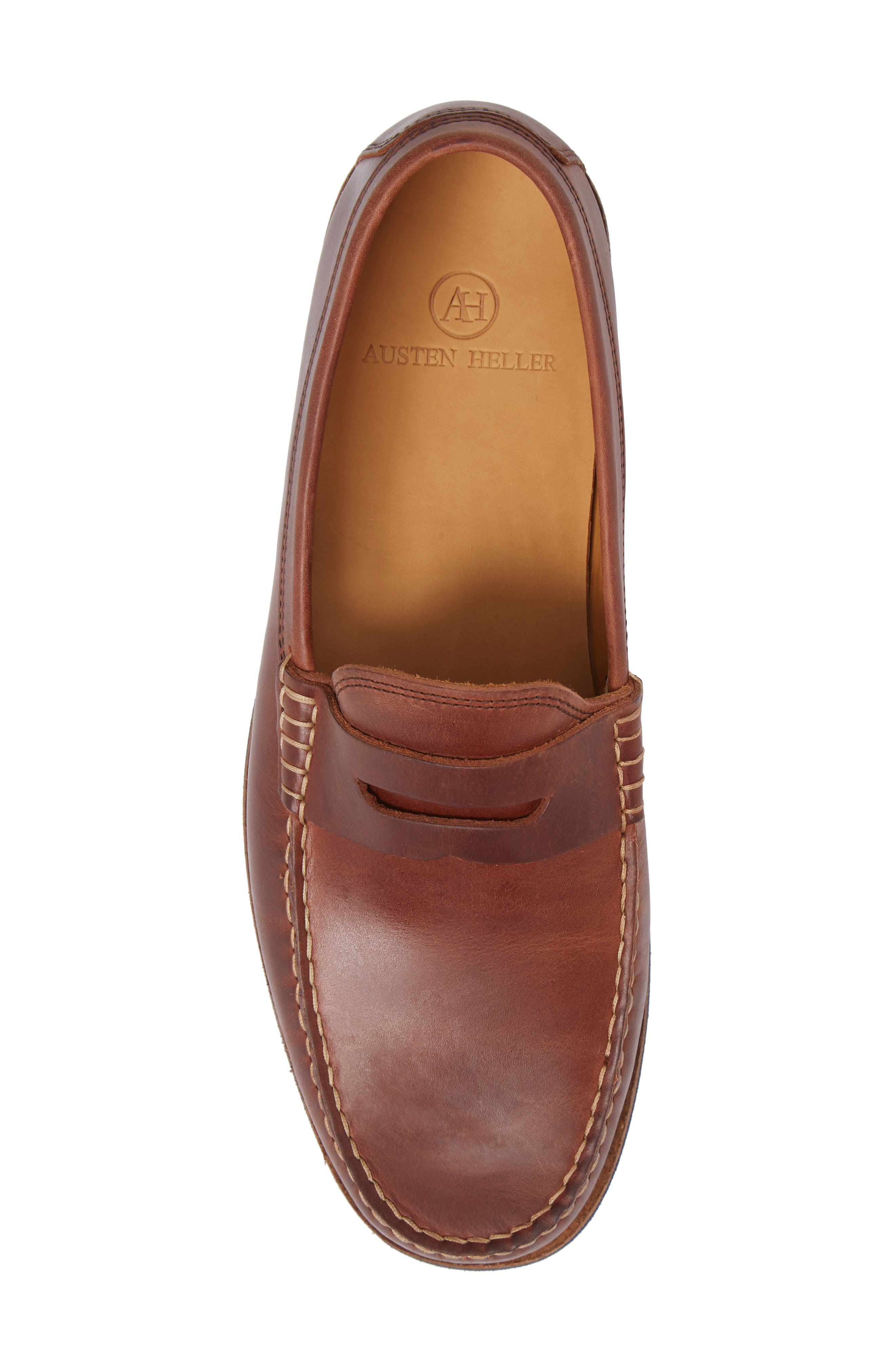 Lincolns Penny Loafer,                             Alternate thumbnail 5, color,                             Light Brown