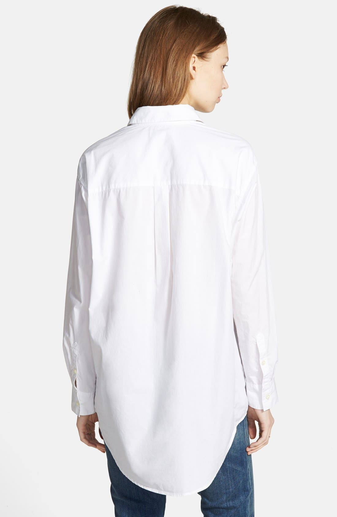 Alternate Image 2  - Madewell Oversize Button Front Shirt