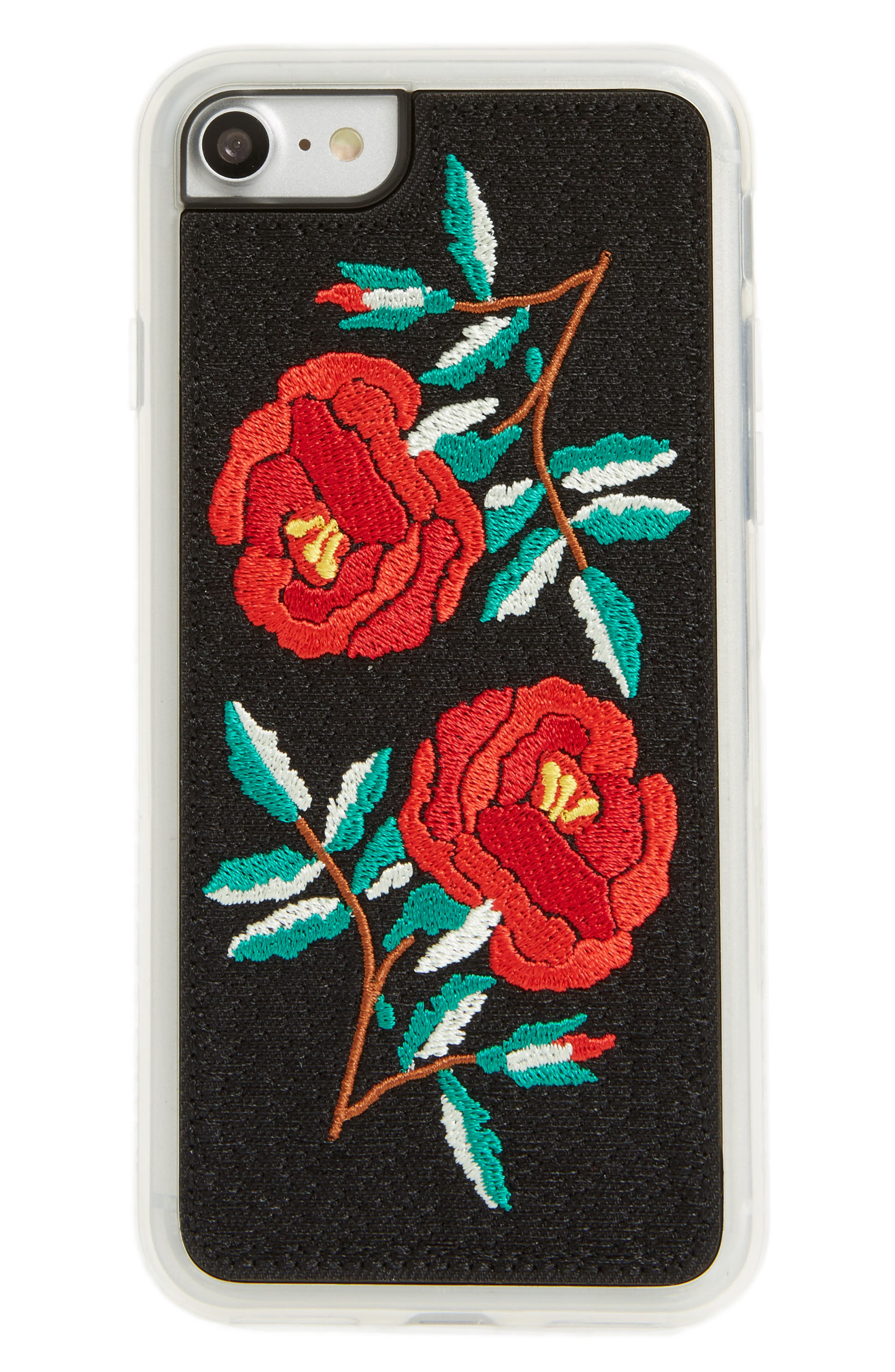 Ojai iPhone 7/8 & 7/8 Plus Case,                             Main thumbnail 1, color,                             Red